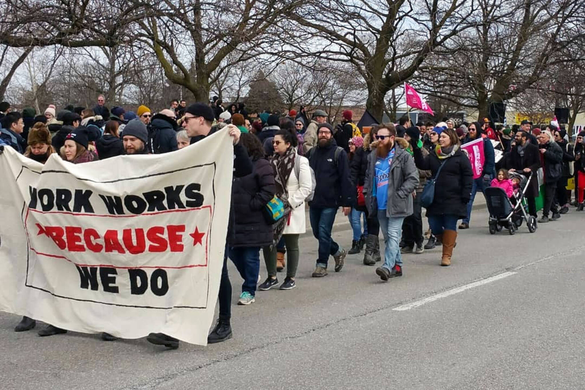 York Strike 2018
