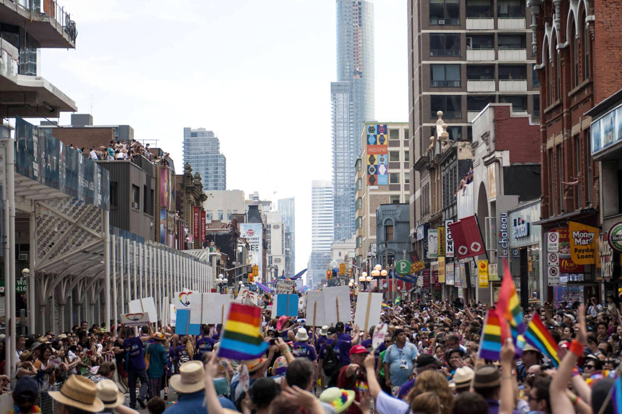 Pride Toronto black