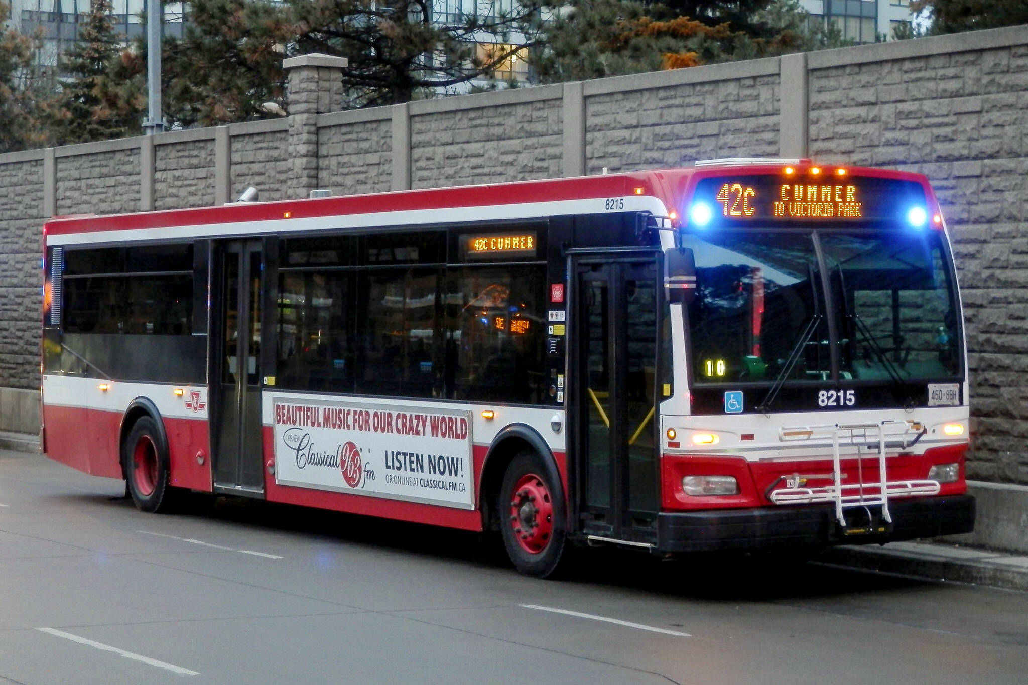 TTC bus chargers