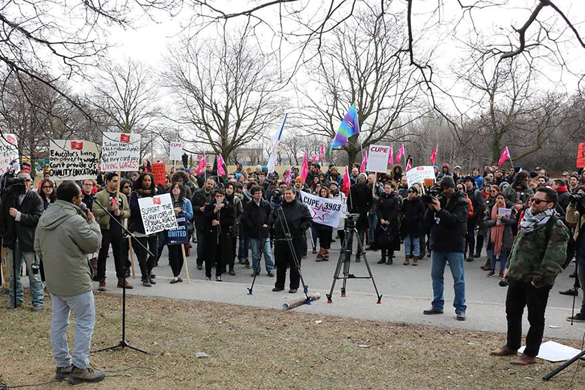 york university strike