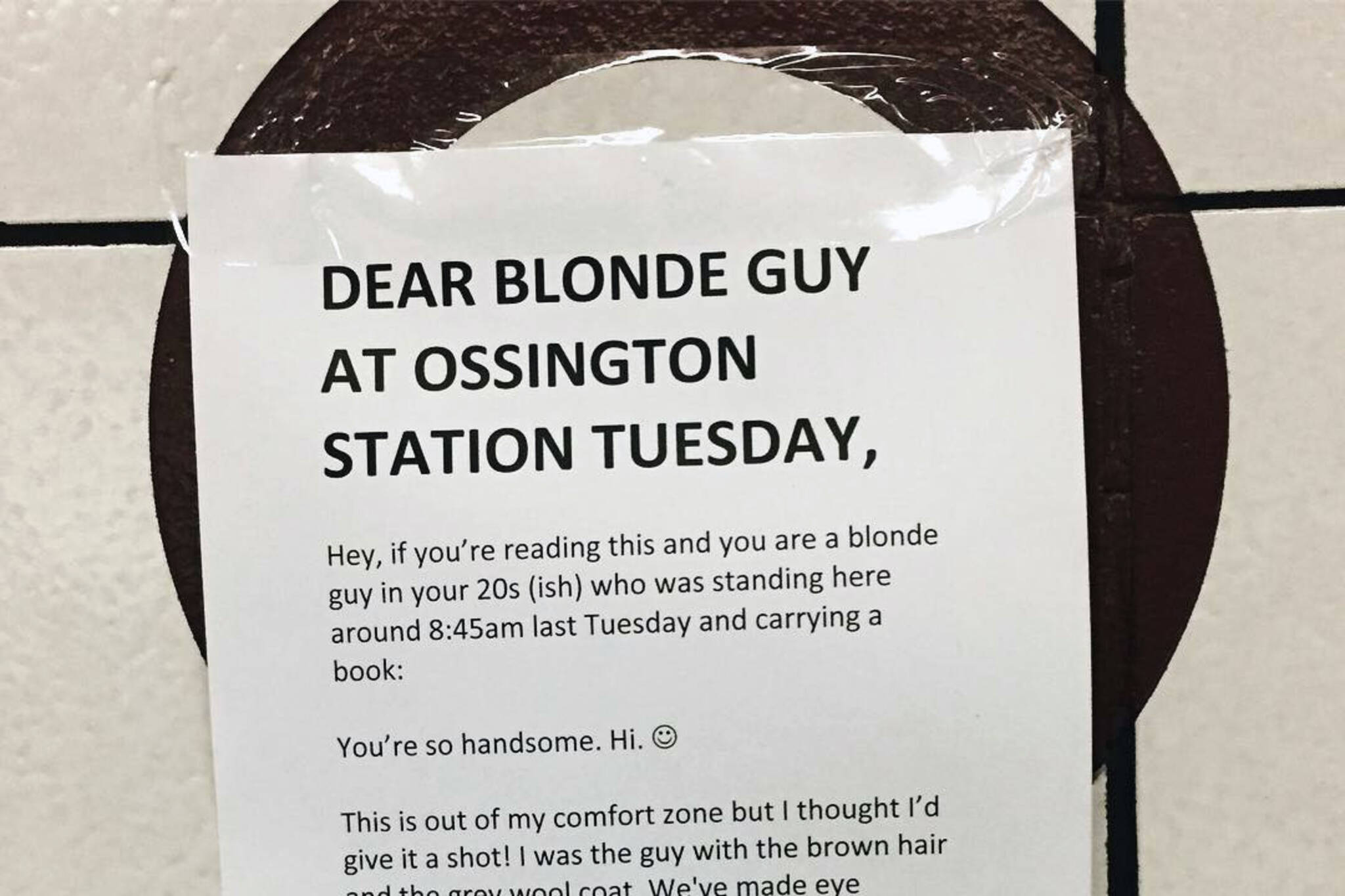 Toronto wants to help this guy find his TTC crush