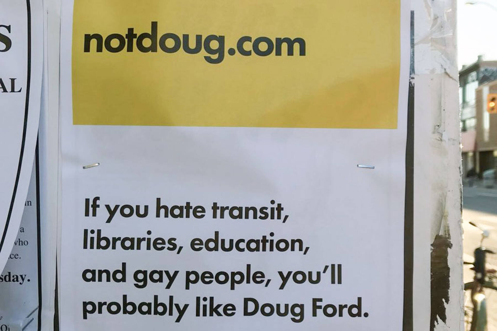 Not Doug Ford