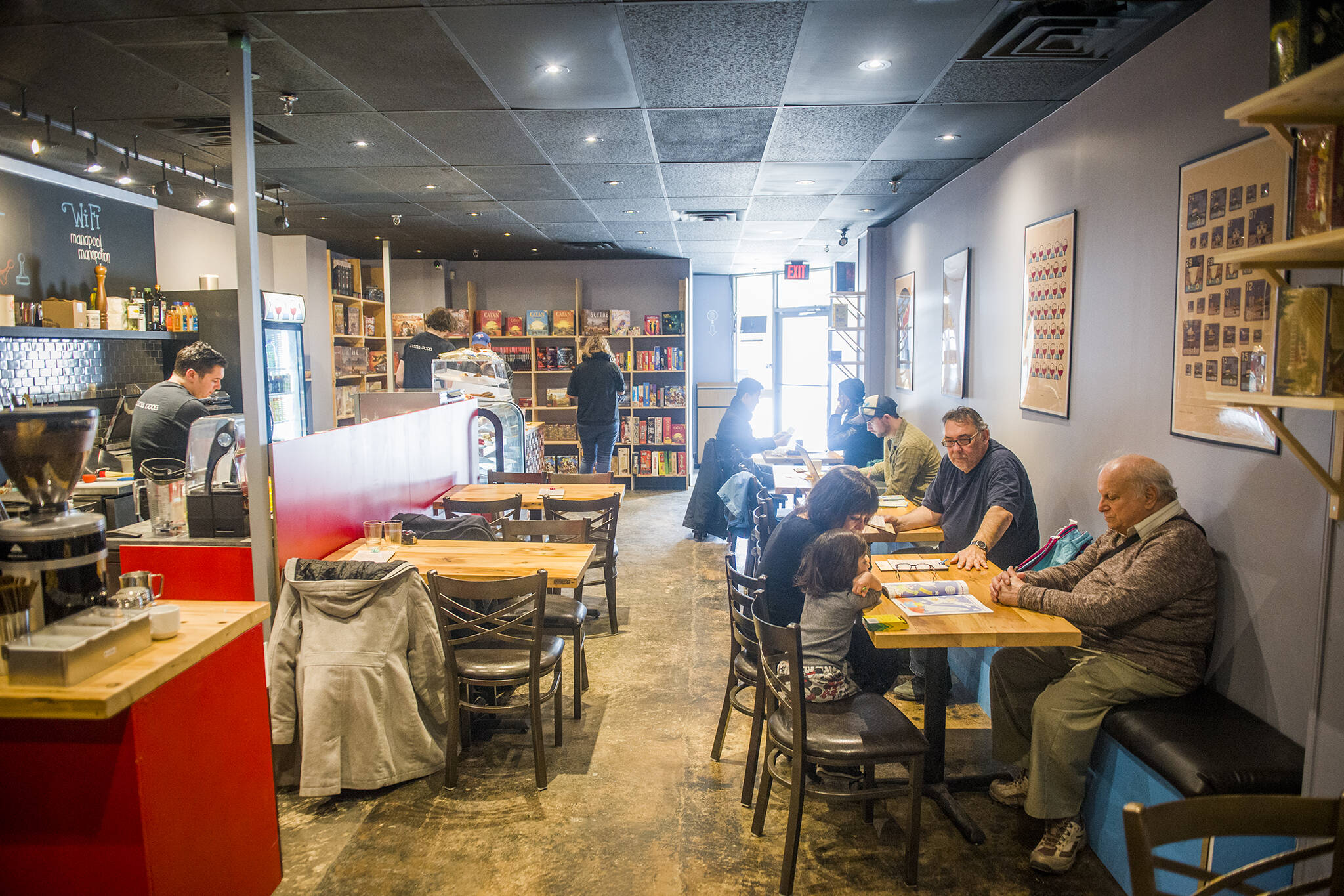 board game cafe toronto