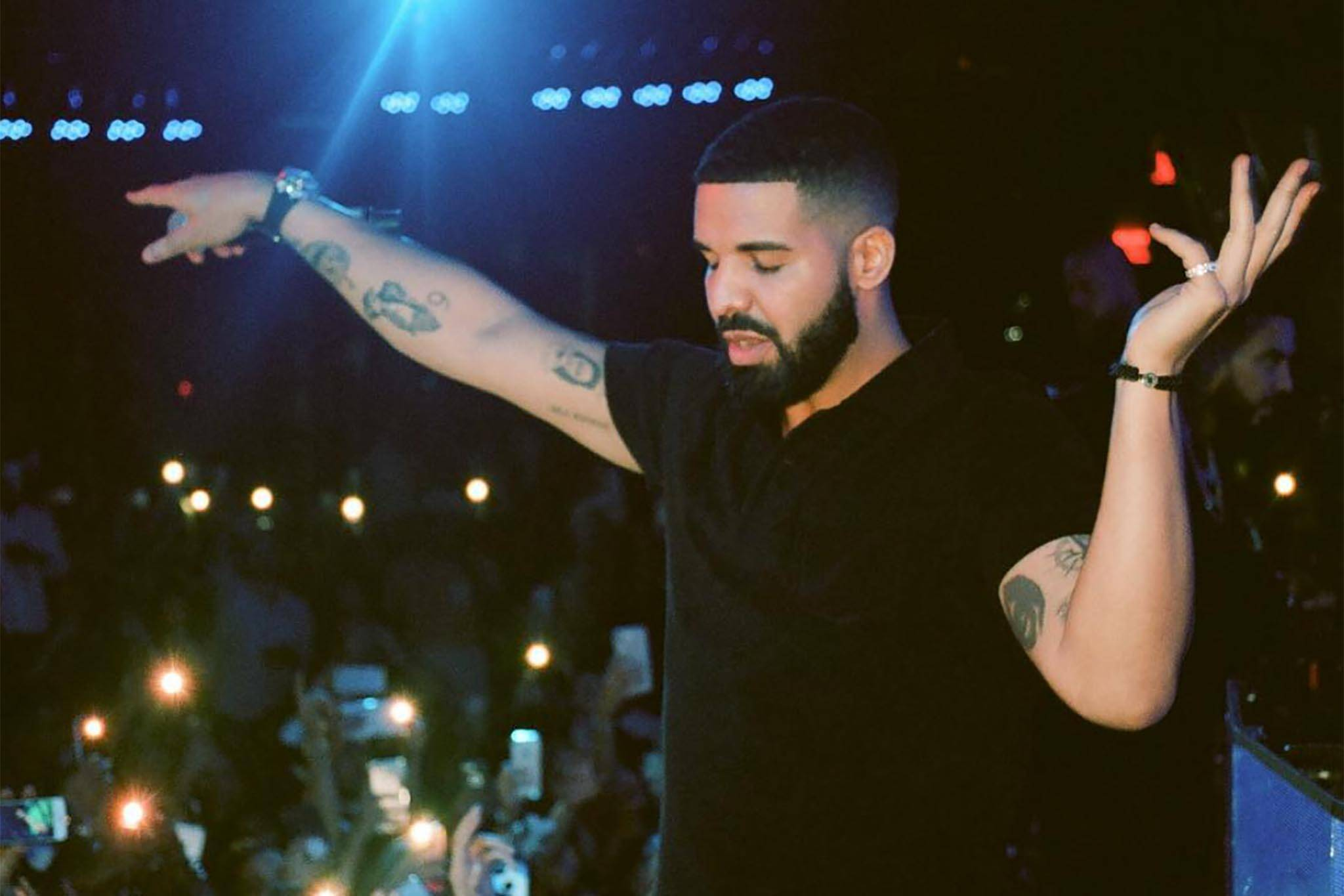 Image result for Drake performing