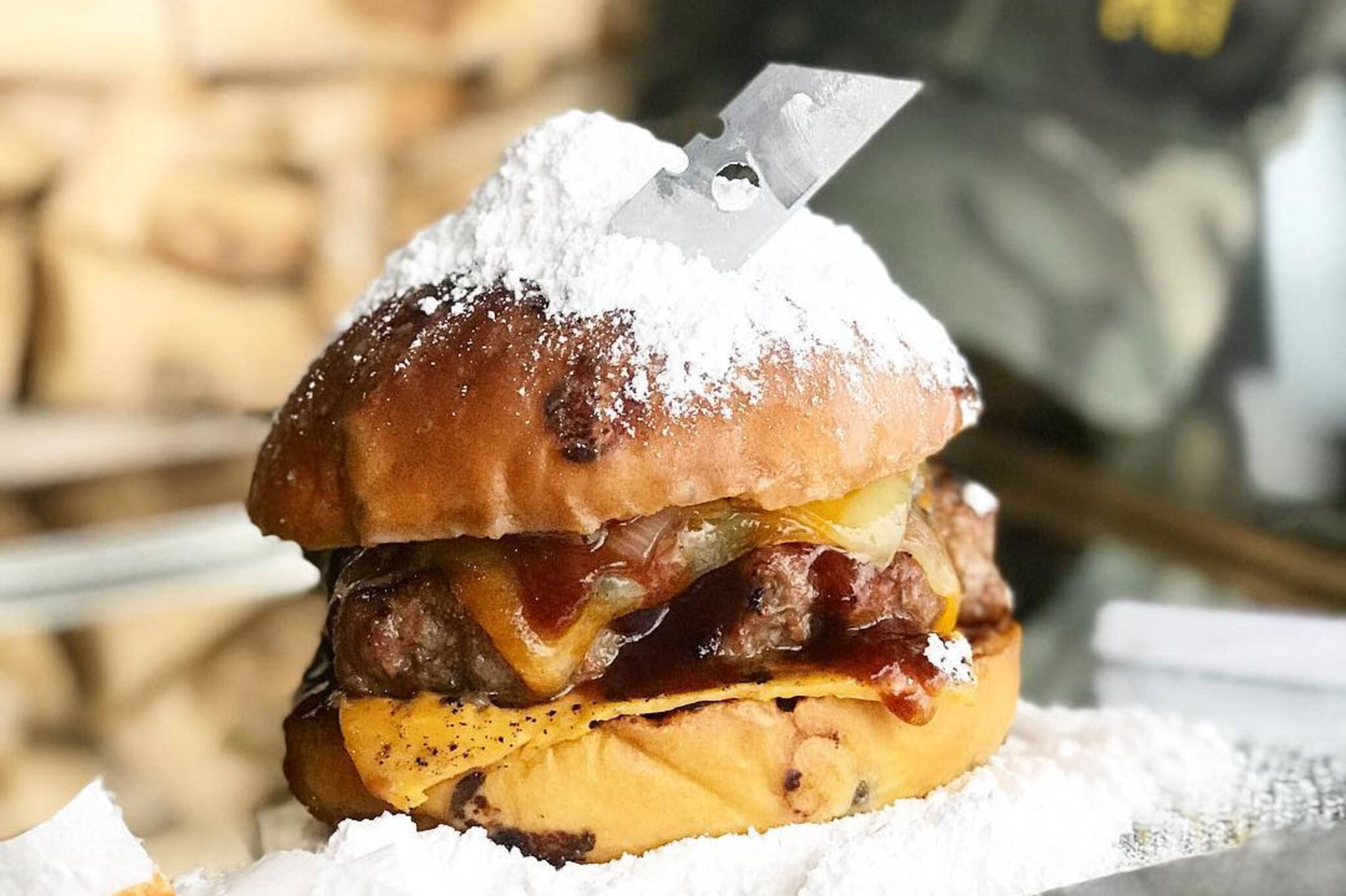 cocaine burger