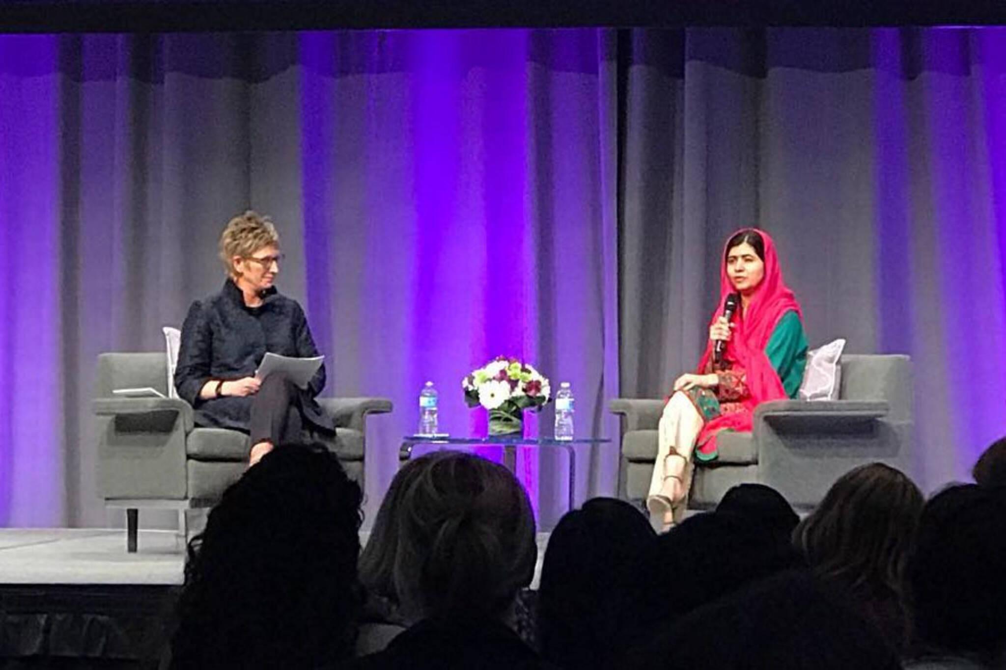 Malala in Toronto