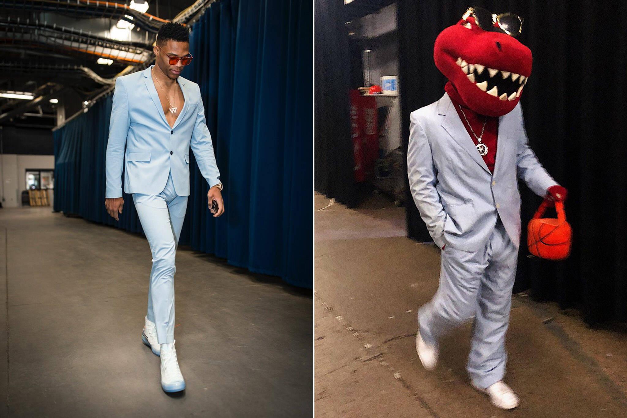 Westbrook Raptor suit