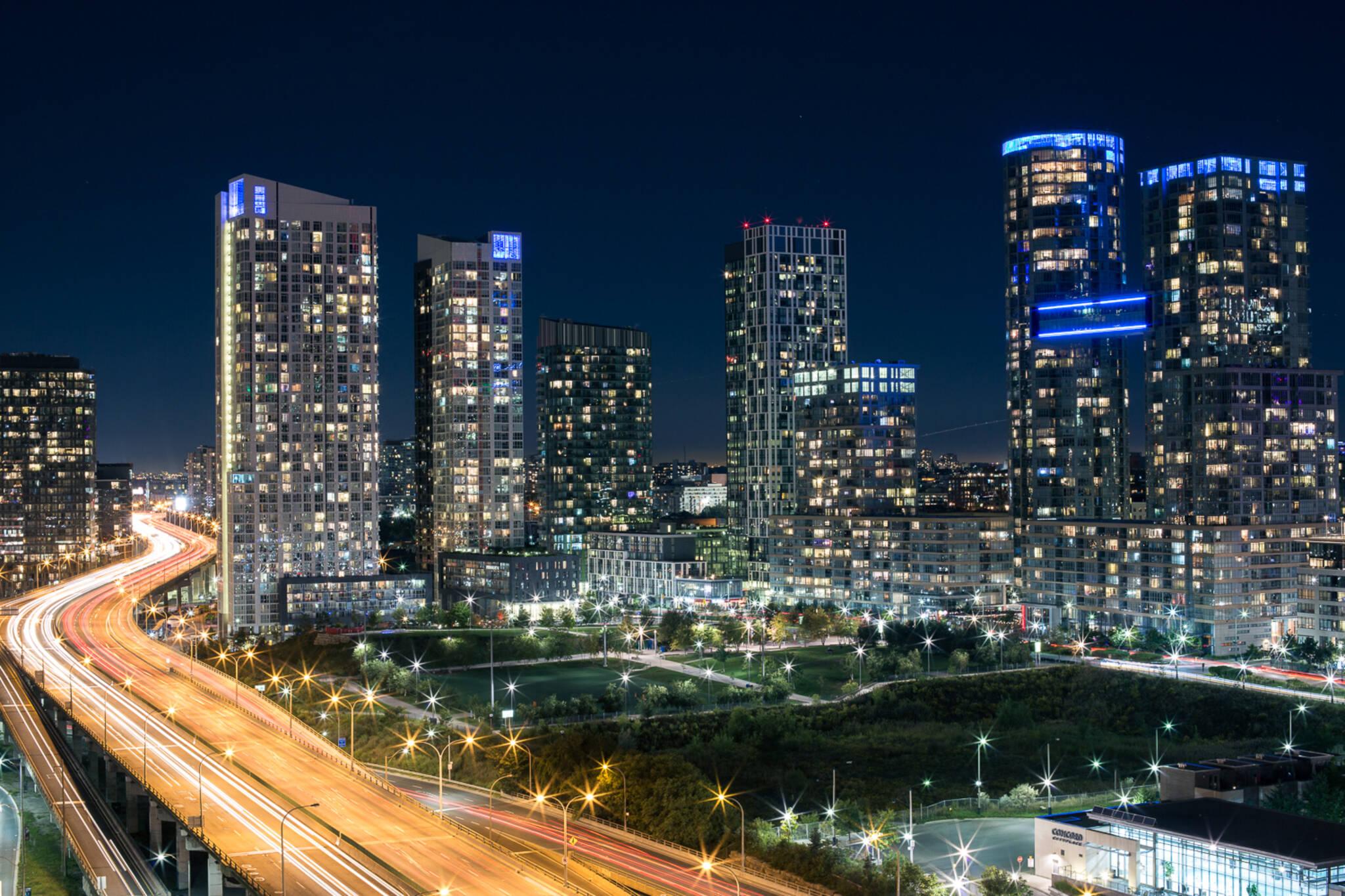 downtown Toronto noise