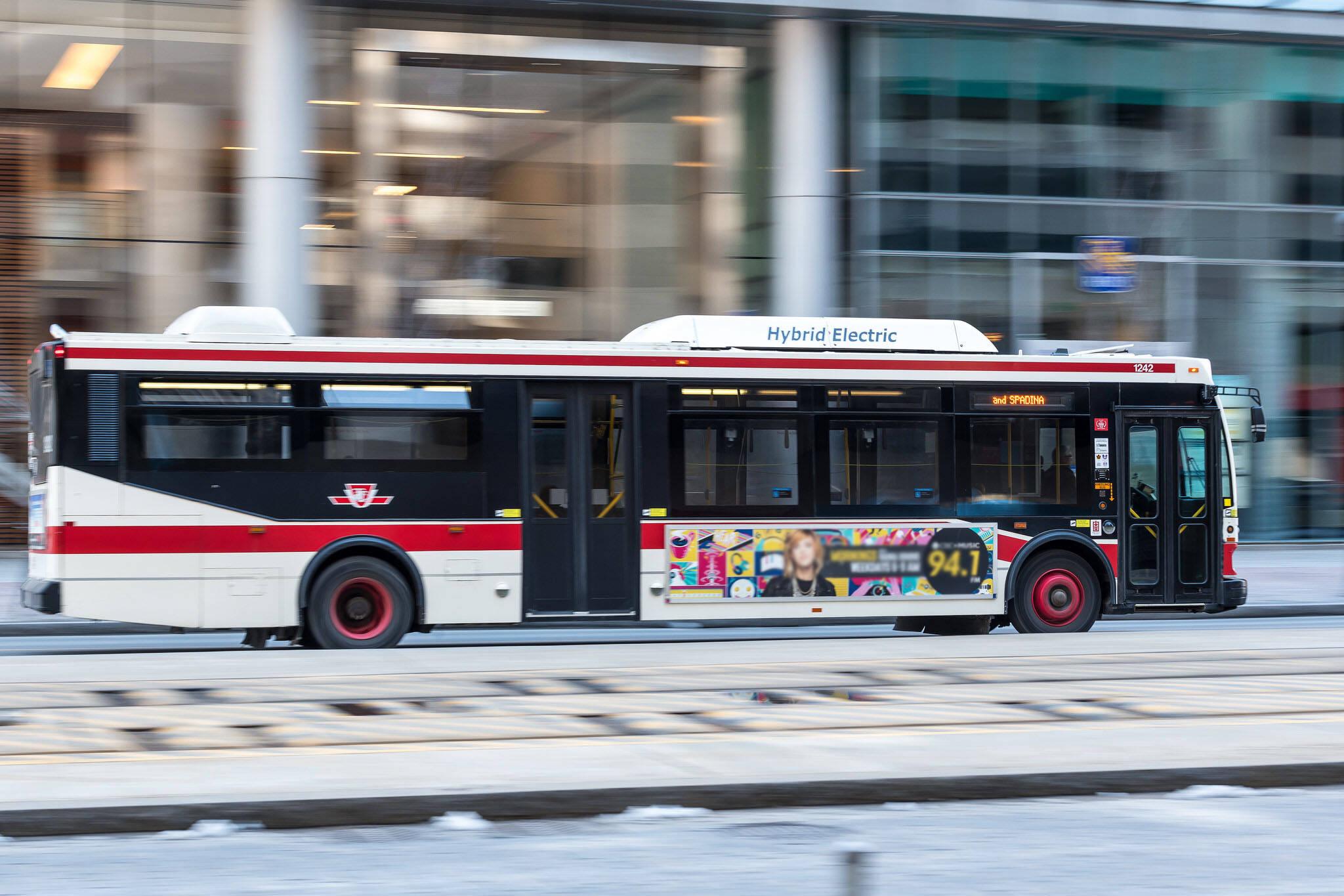 new buses toronto