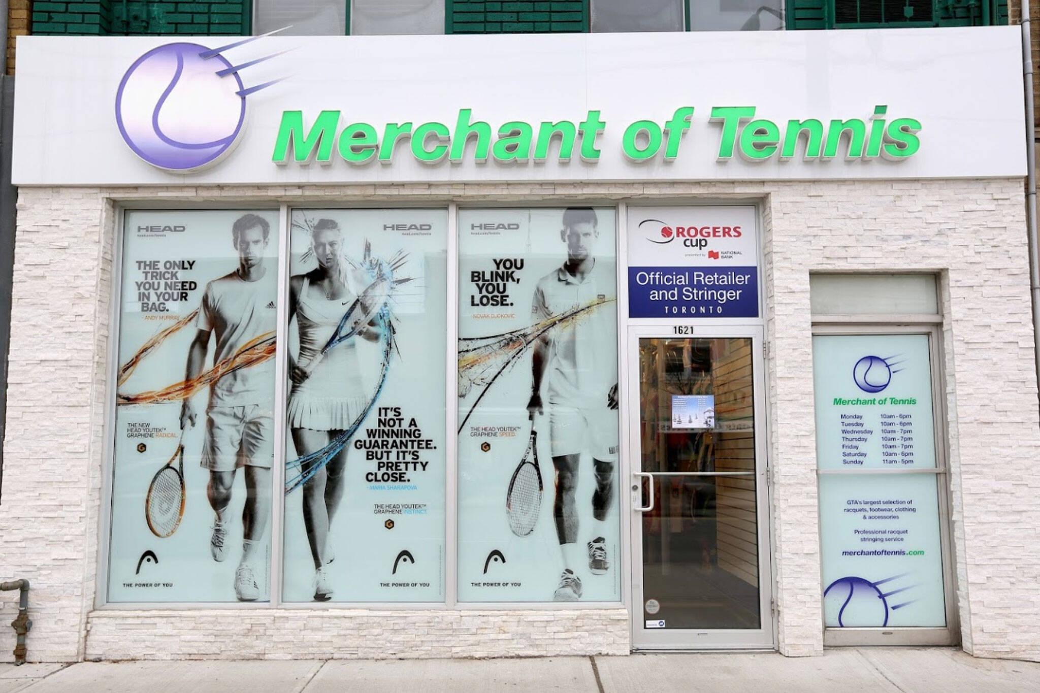Tennis stores toronto