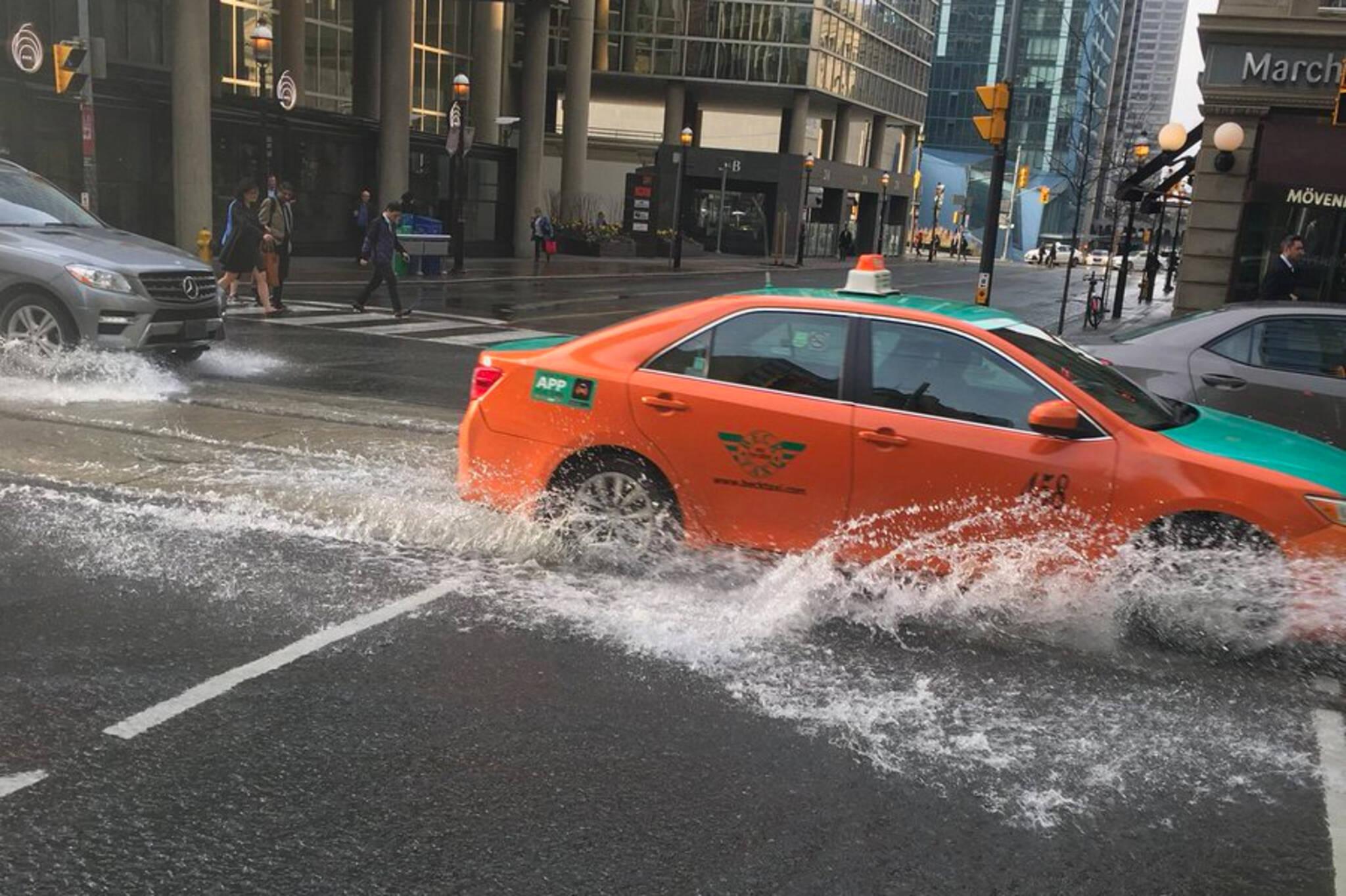 yonge flood toronto