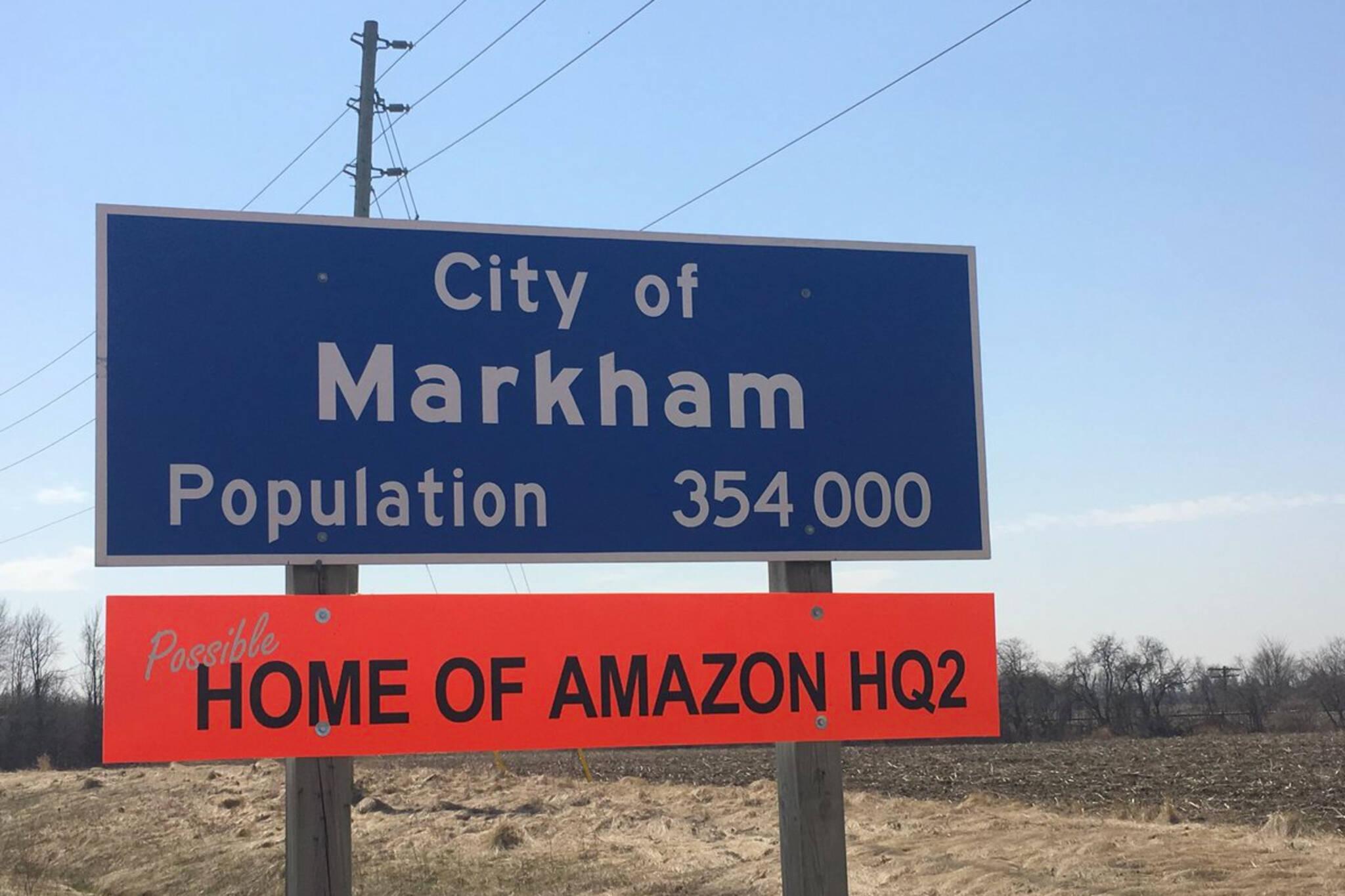 Markham Amazon HQ2