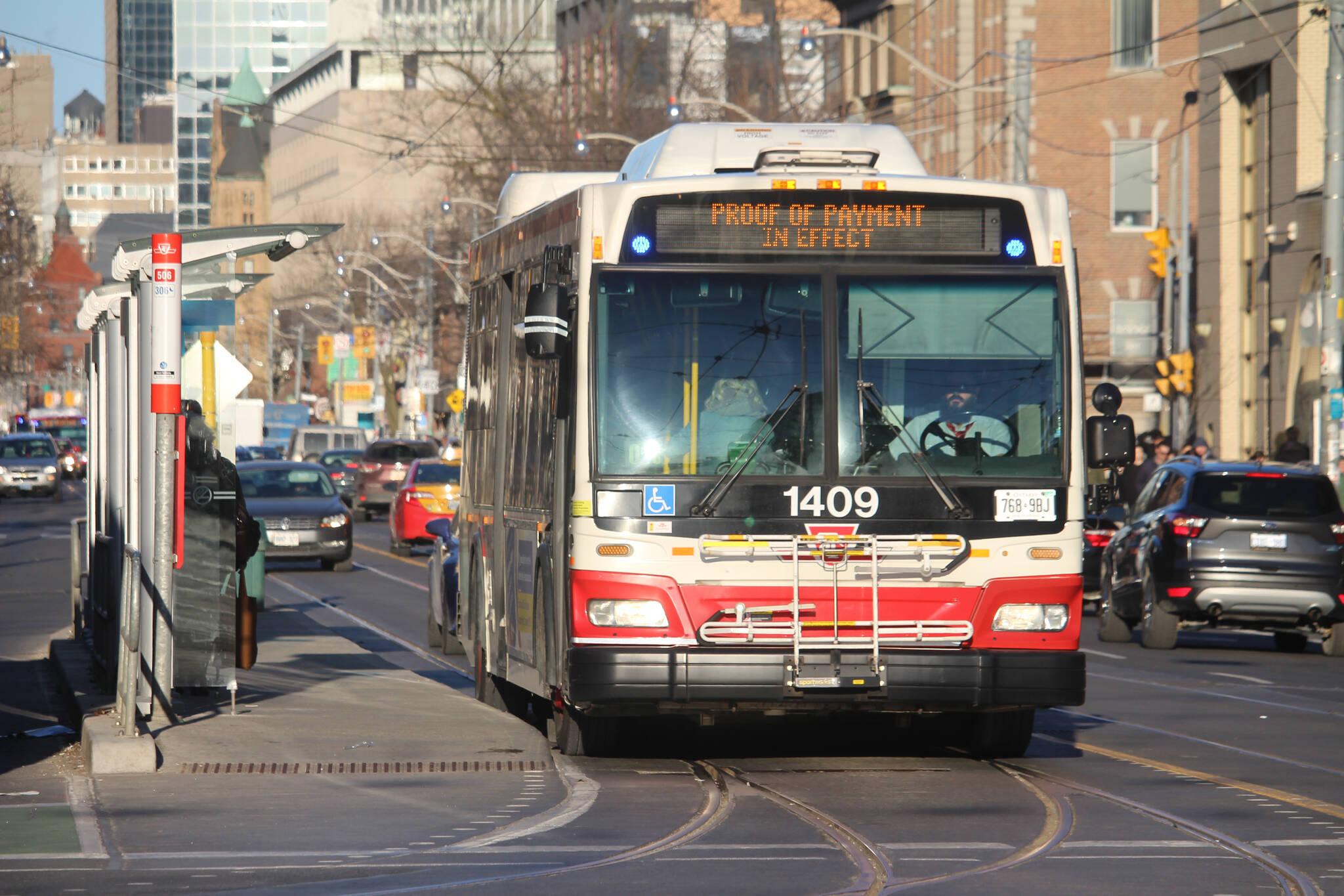 TTC expresso bus