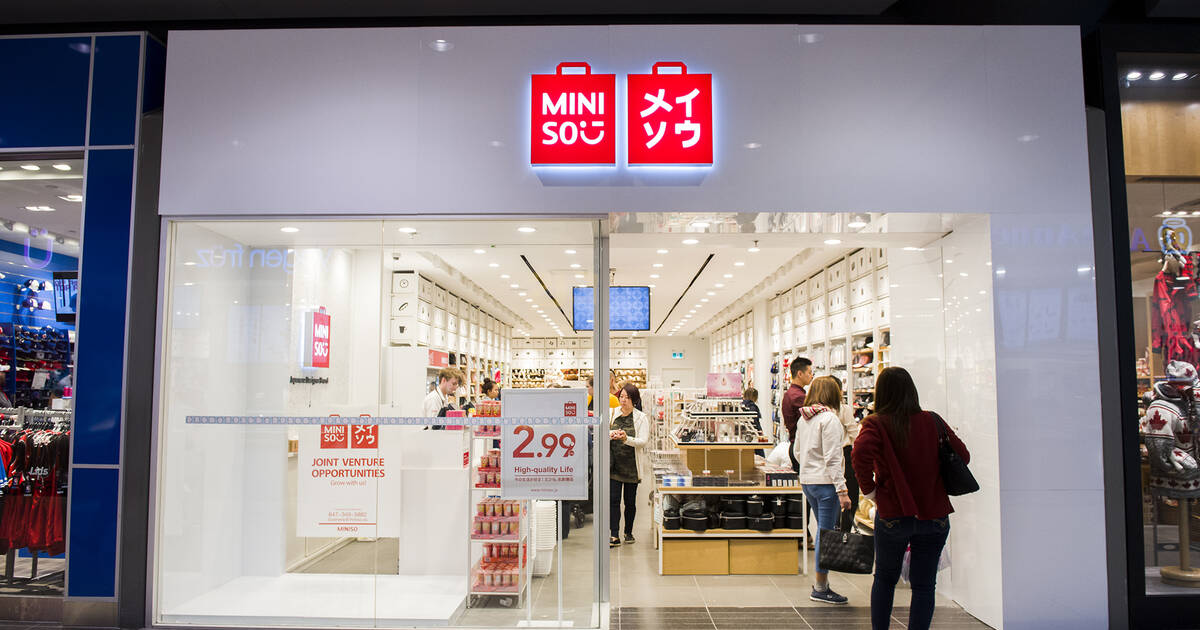 6fb76ccfd46 Events in toronto  Miniso Canada just filed for bankruptcy