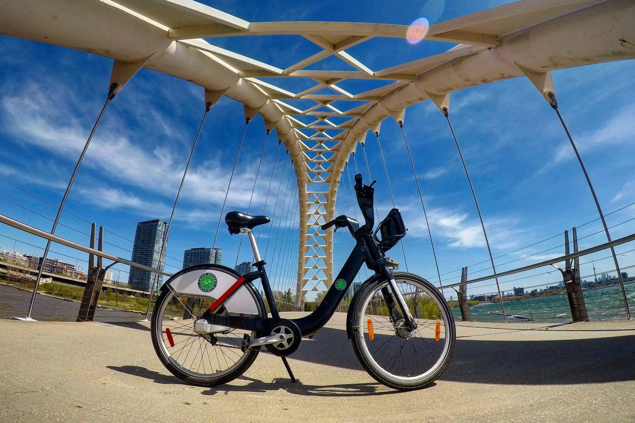 june bike share toronto free