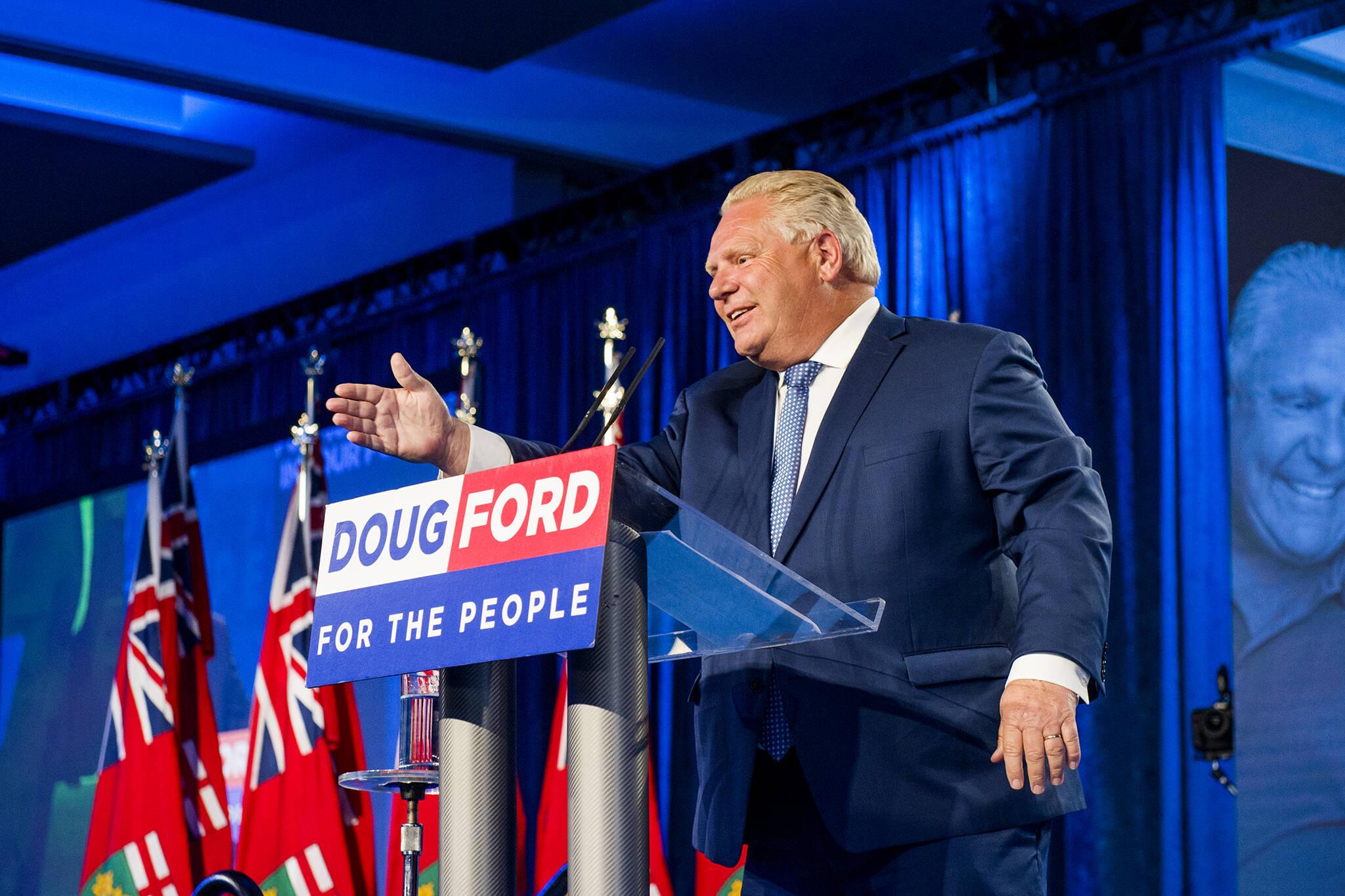 doug ford premier promises