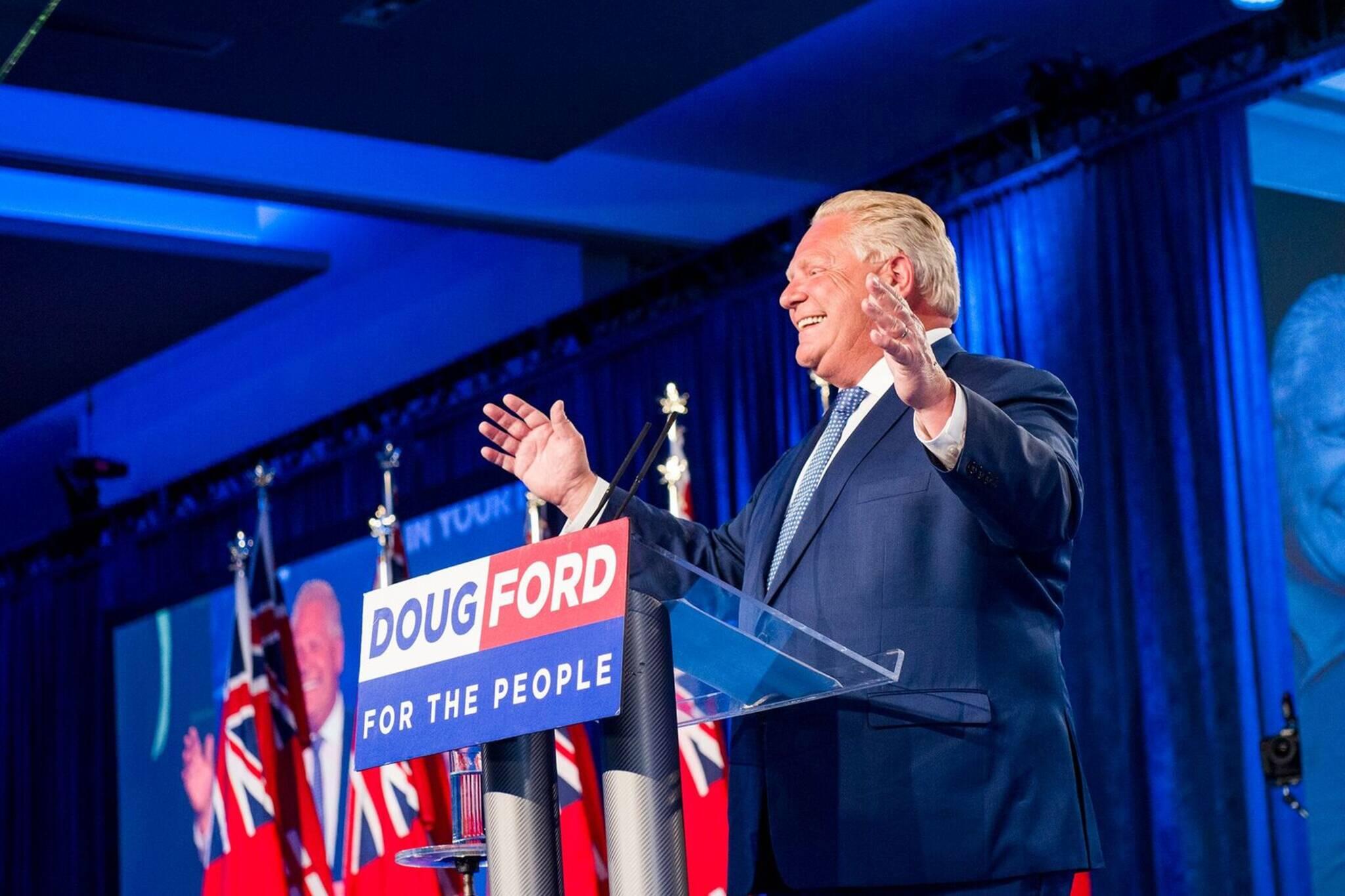 Doug Ford subways