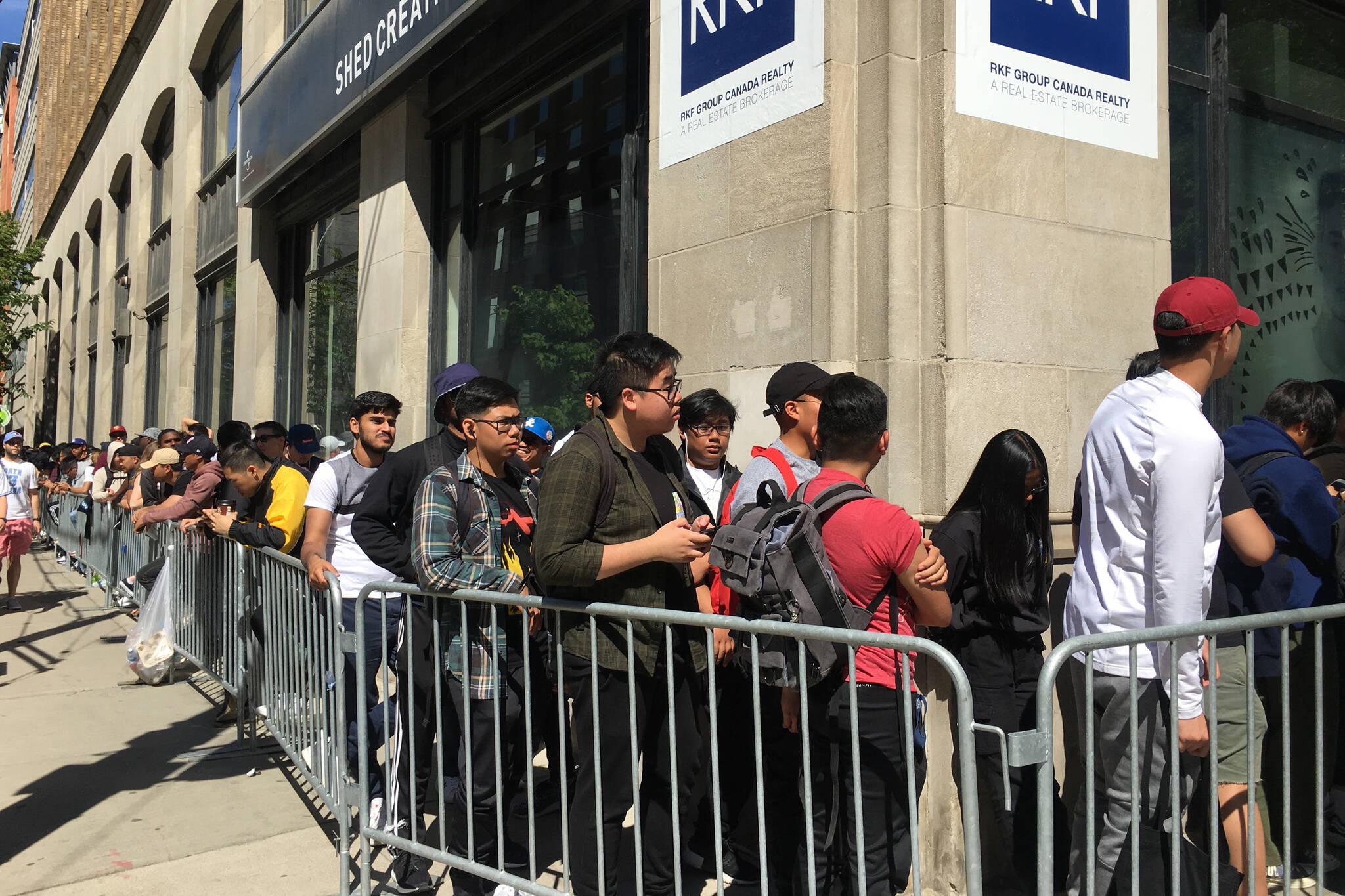 5a11deda21f Kendrick Lamar pop-up brings massive lines to Toronto