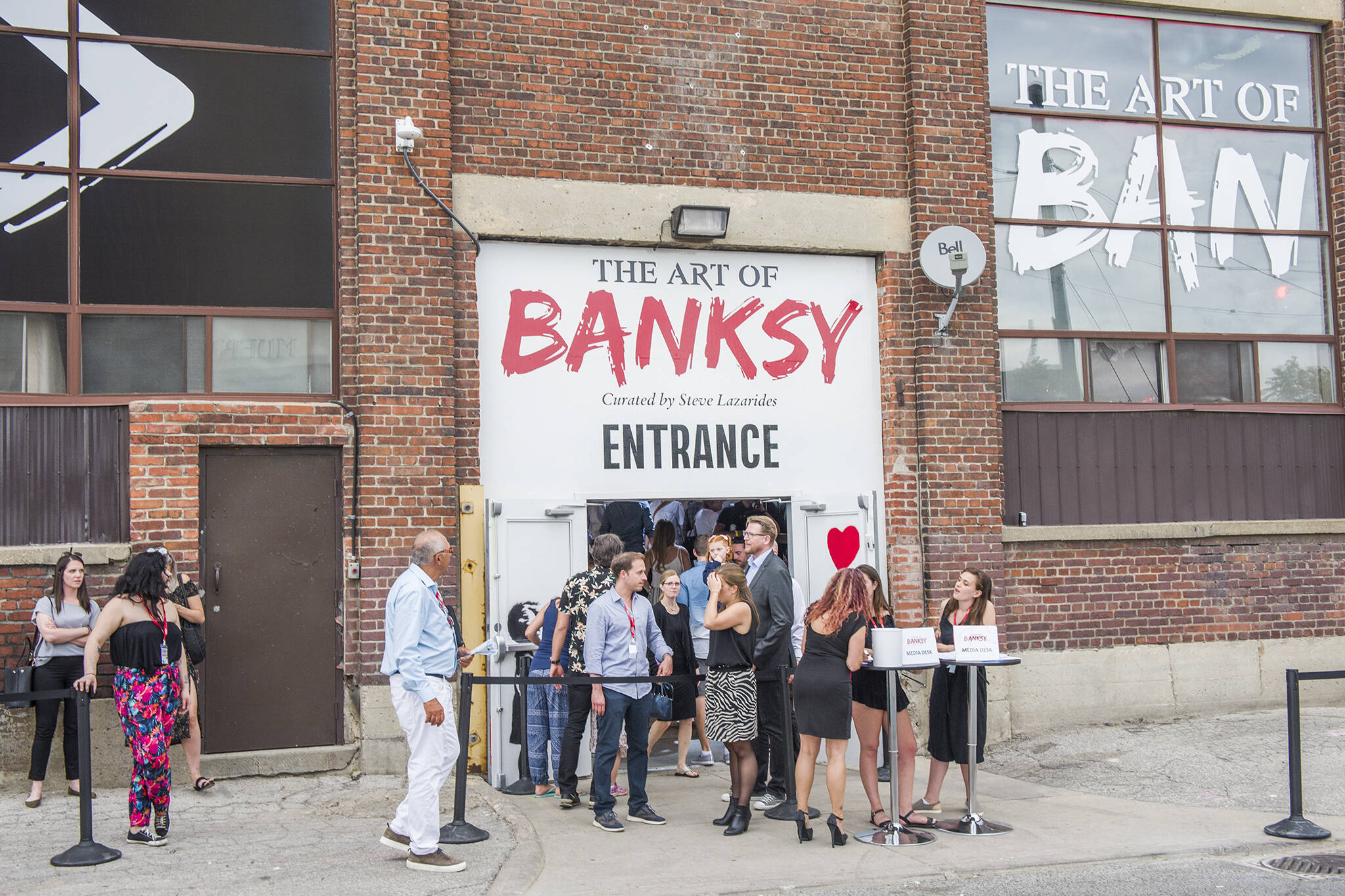banksy exhibit toronto