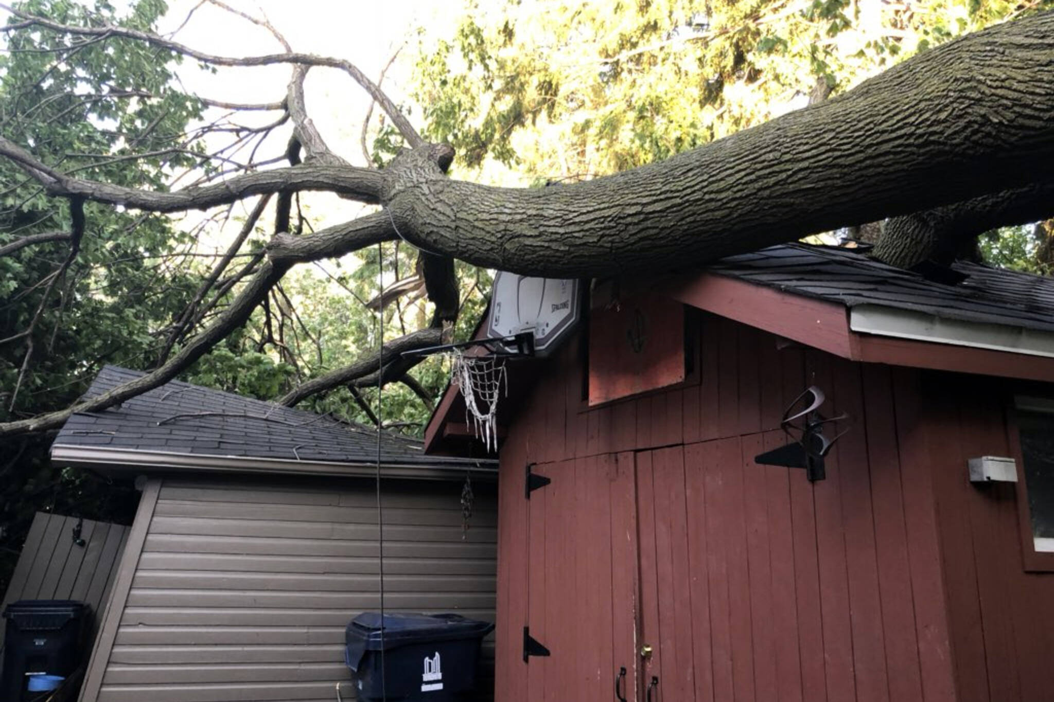 Toronto storm damage