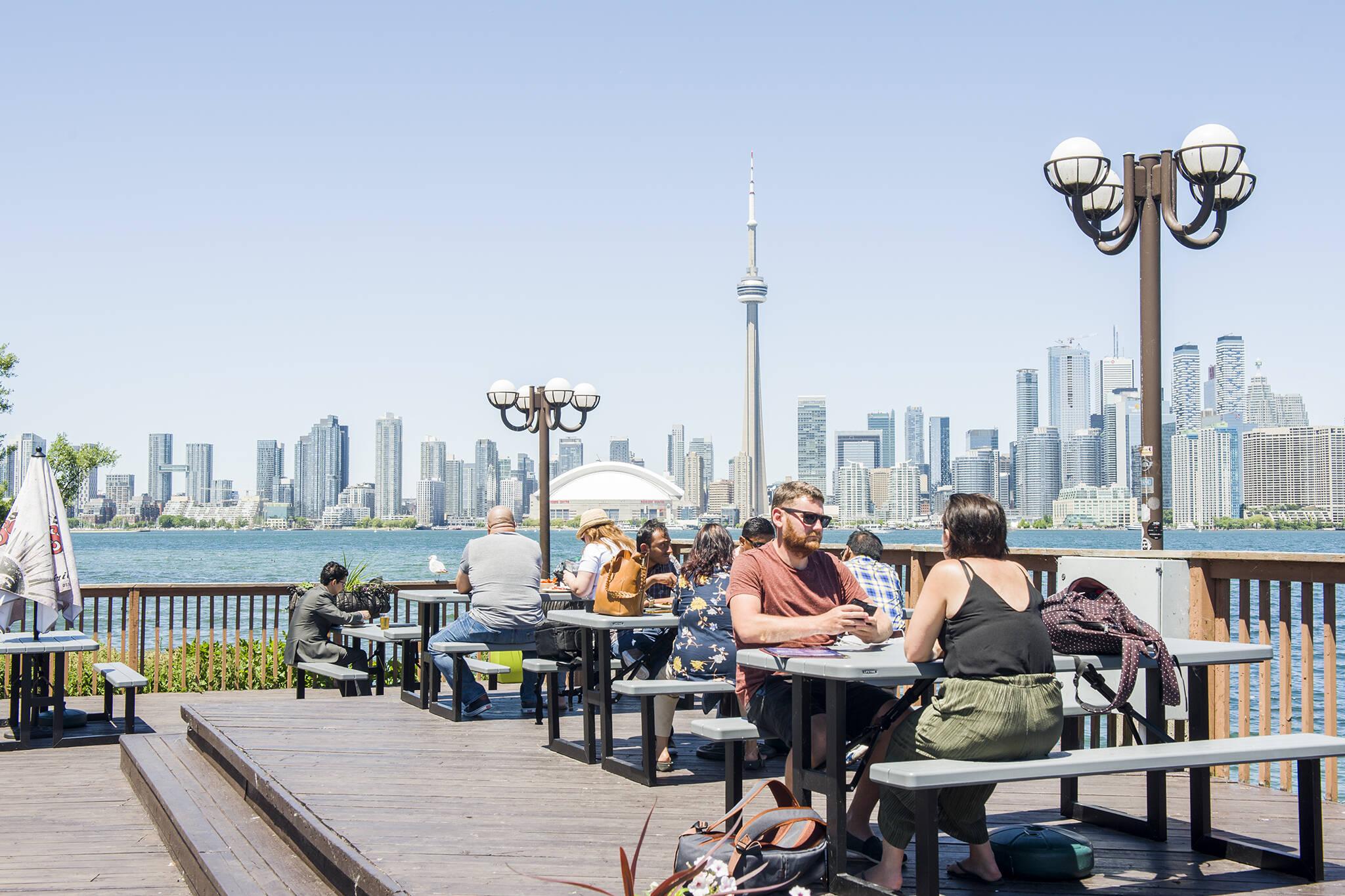Toronto Patio View