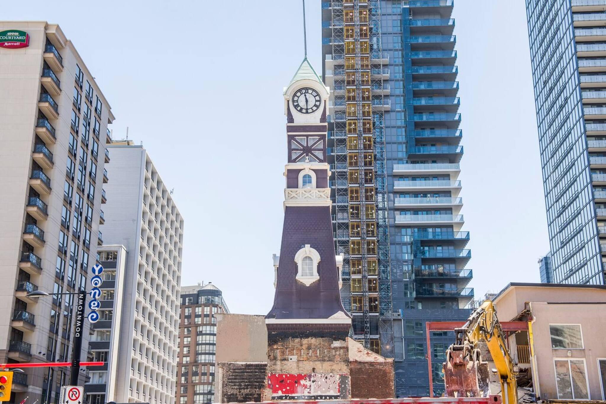 clock tower toronto