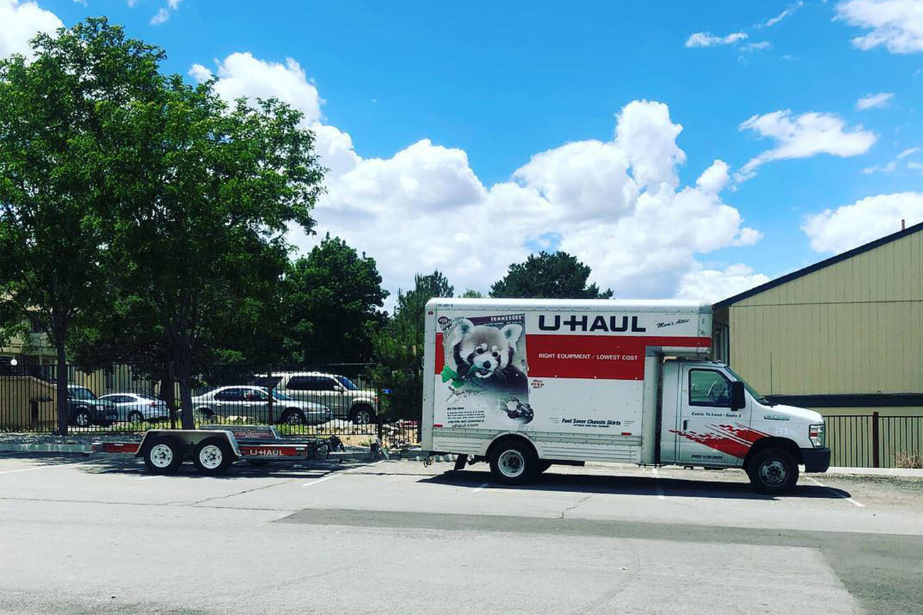 Uhaul truck rental anchorage