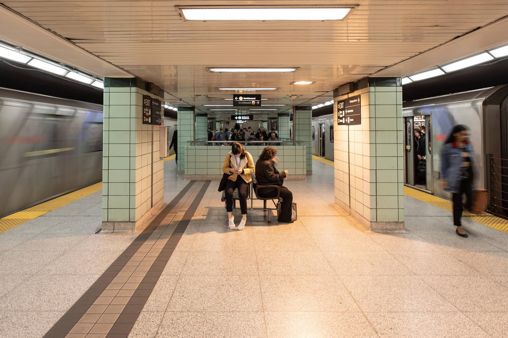 ttc subway barriers