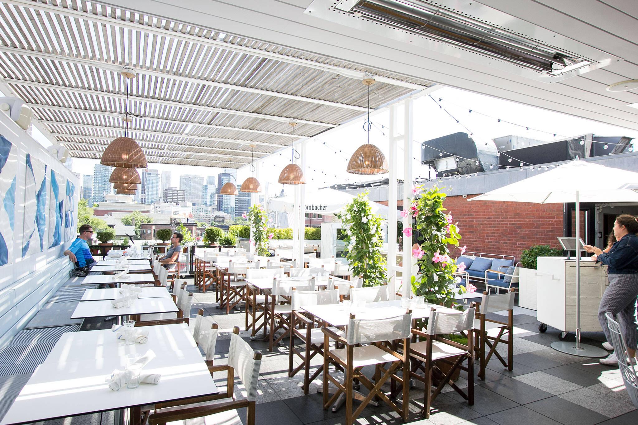 best patios toronto