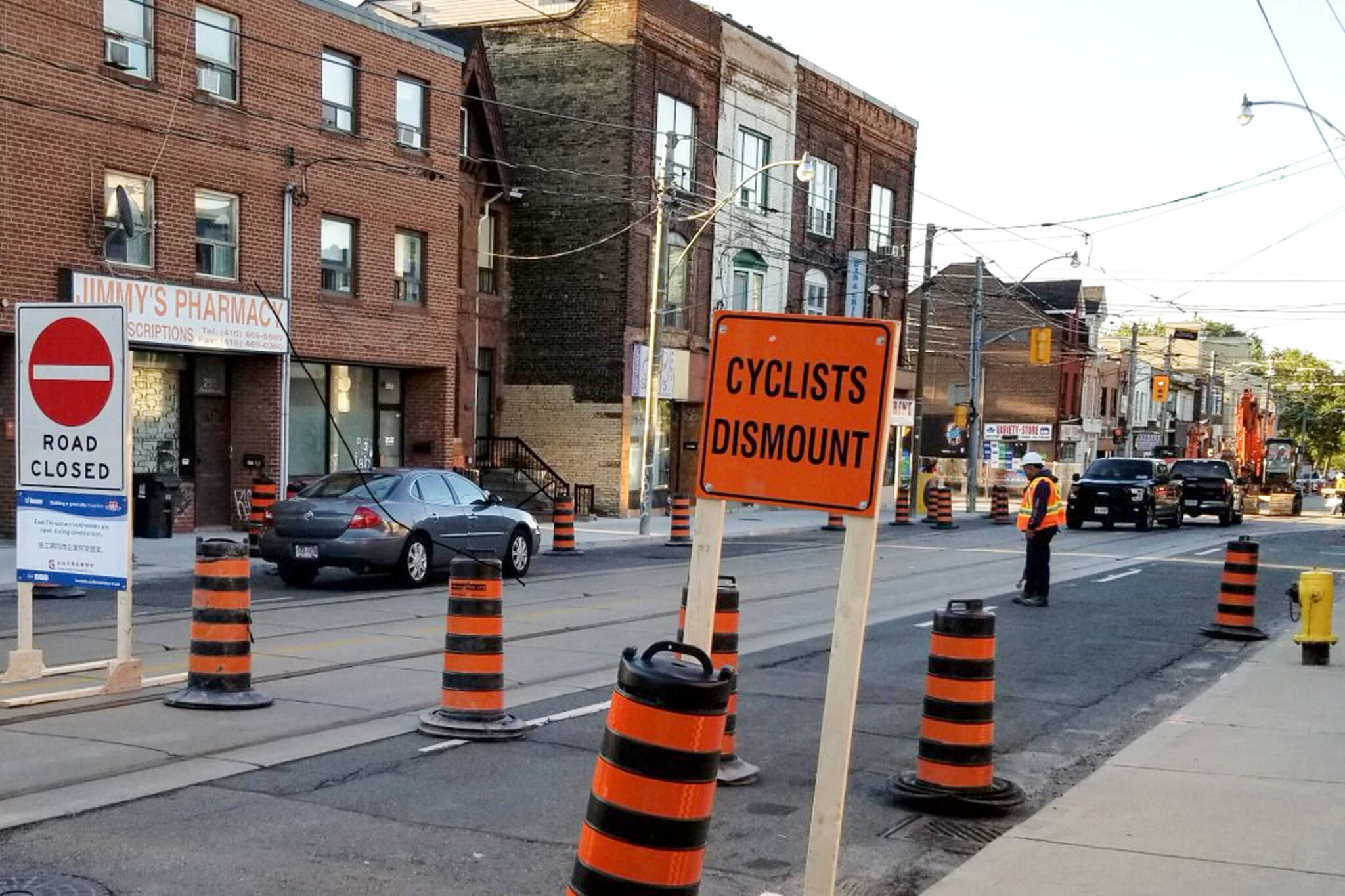 Broadview dundas closure