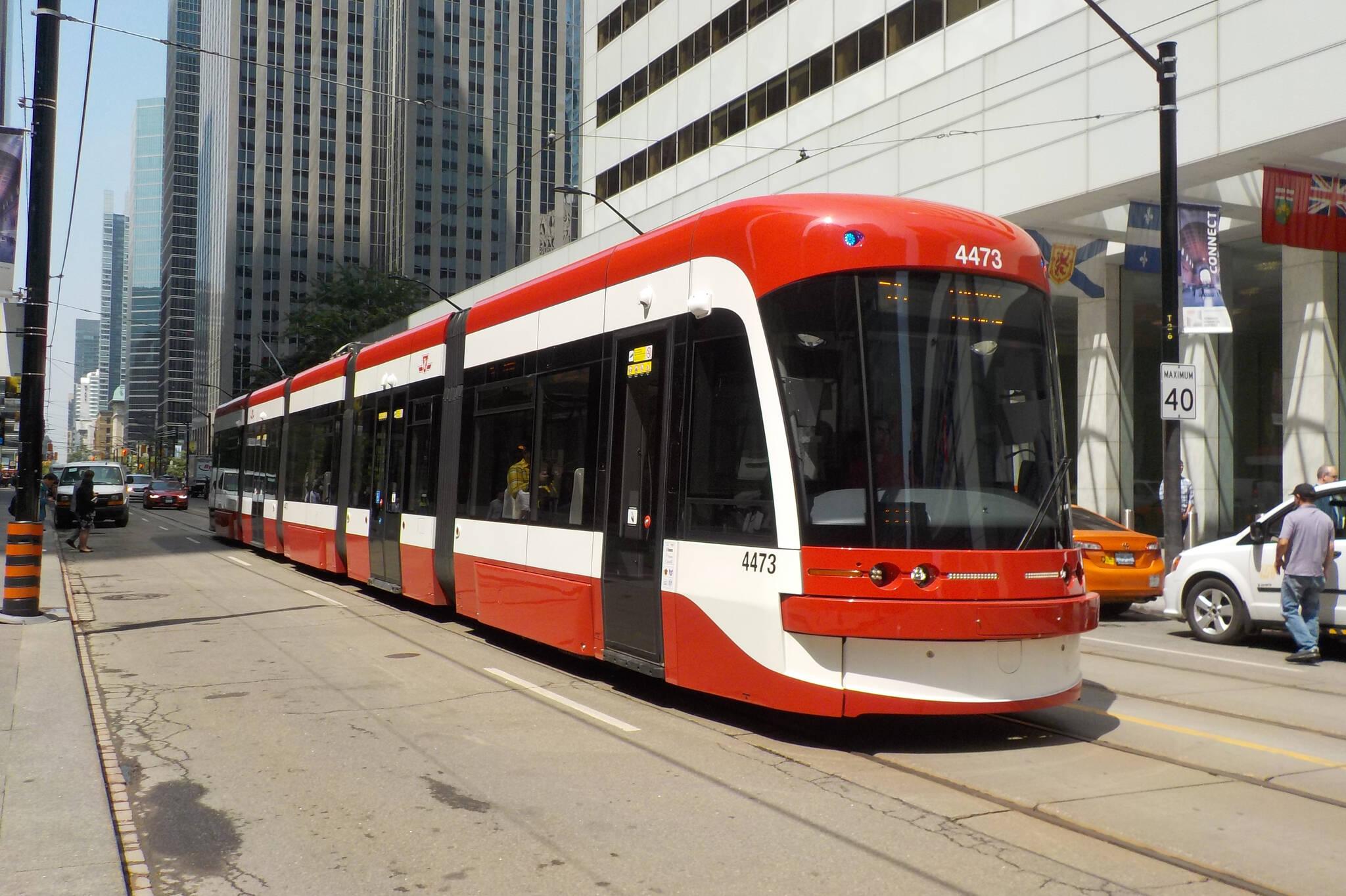 bombardier streetcar ttc toronto
