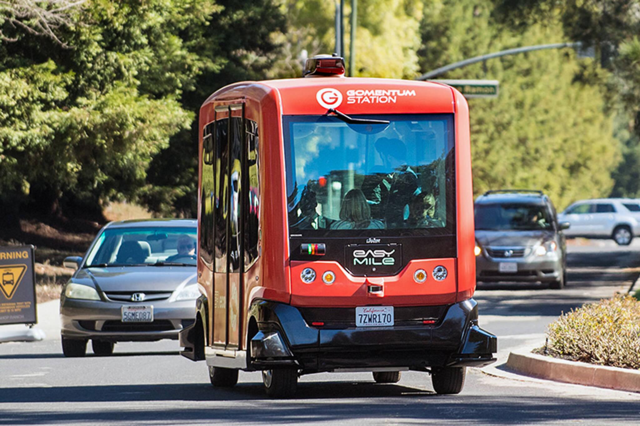 driverless shuttles toronto