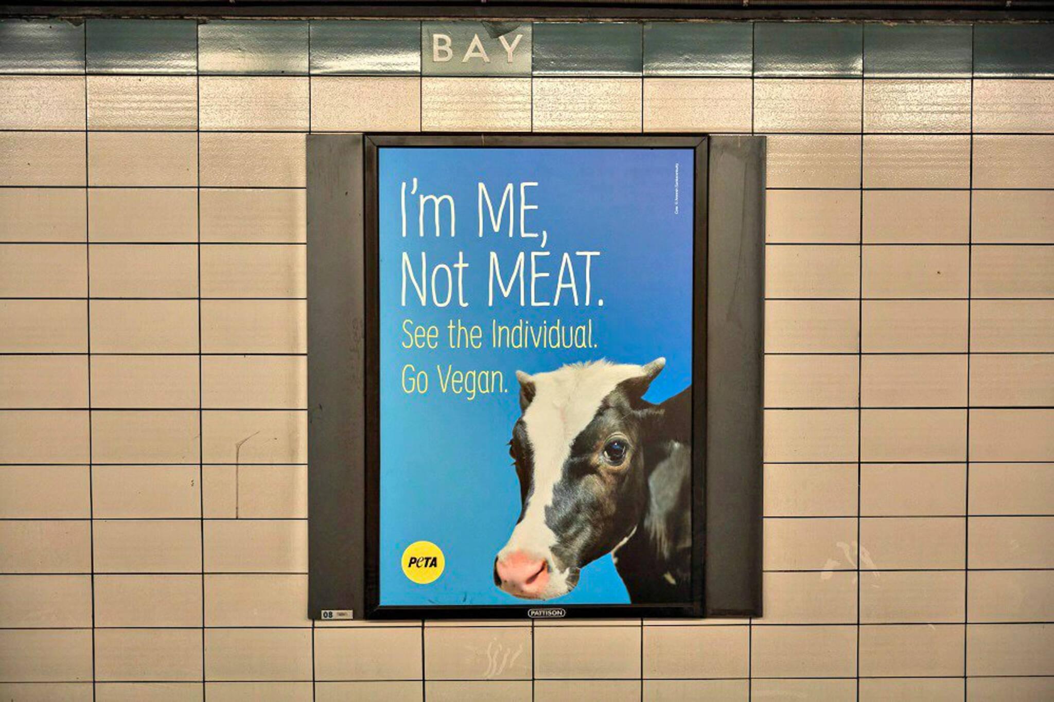 PETA ads Toronto
