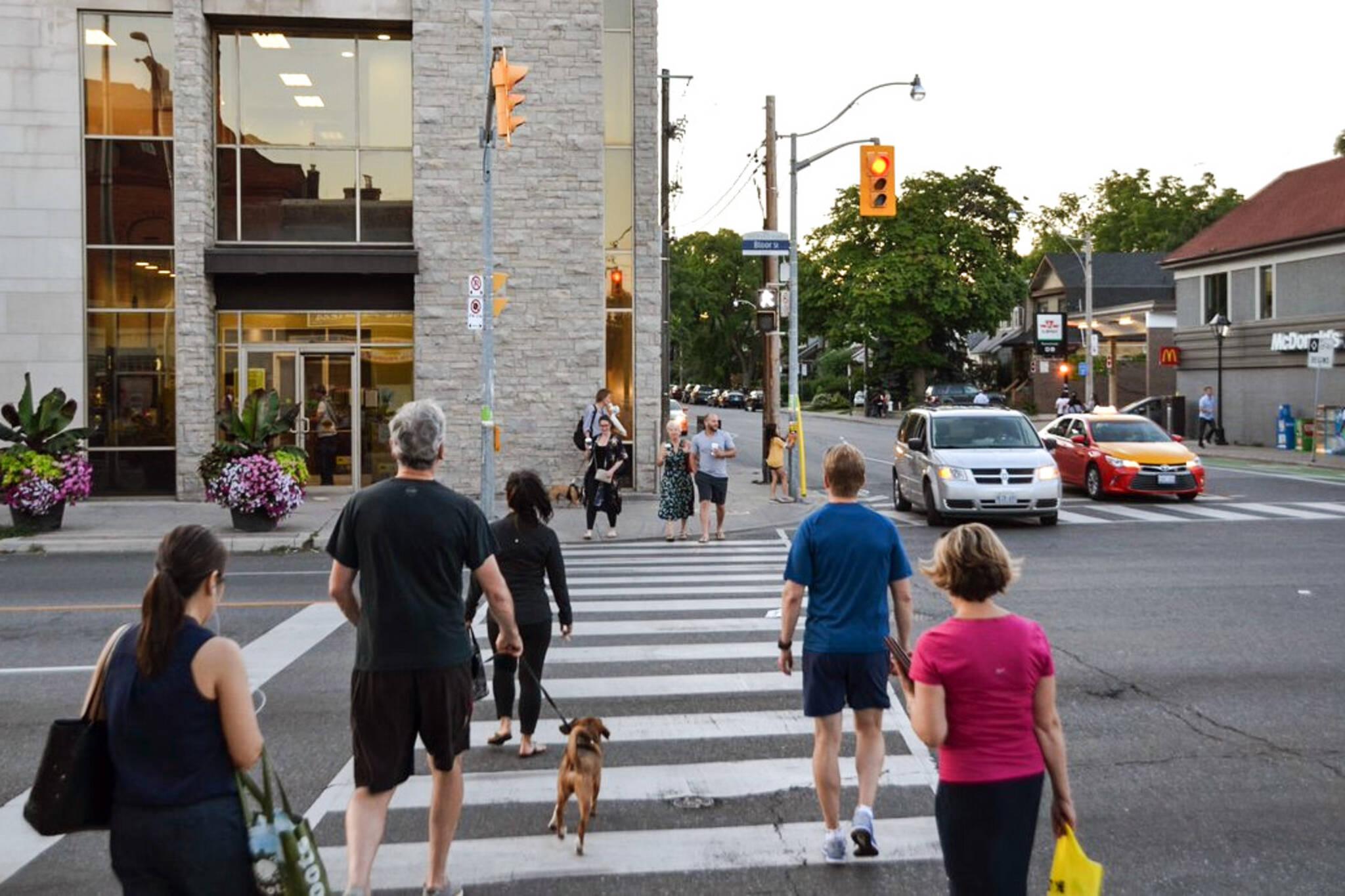 Toronto advance walk