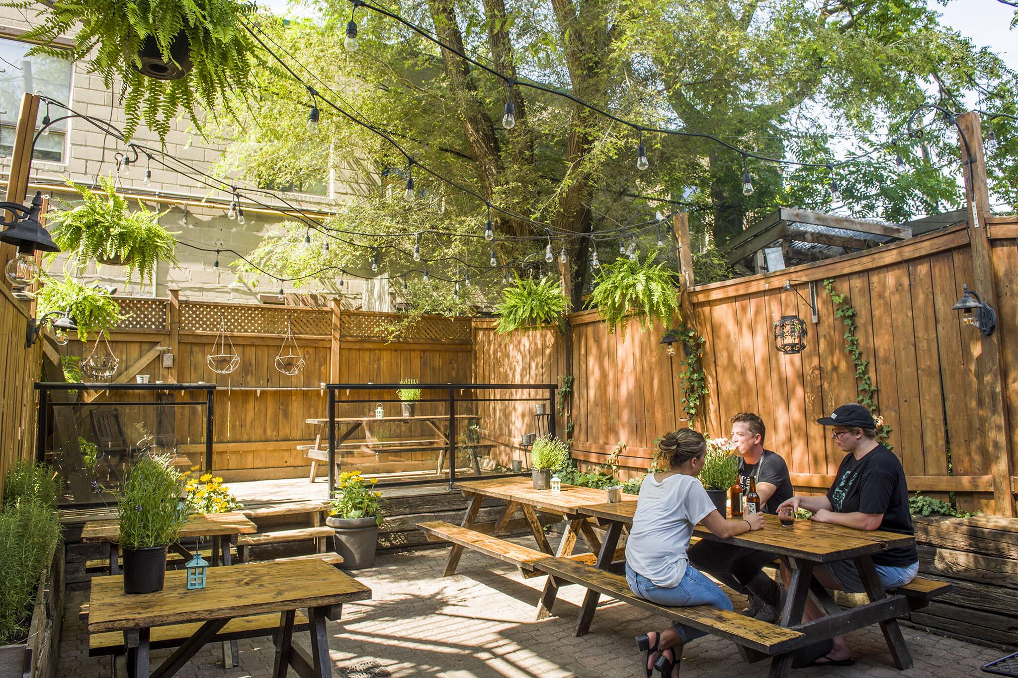 secret patios toronto