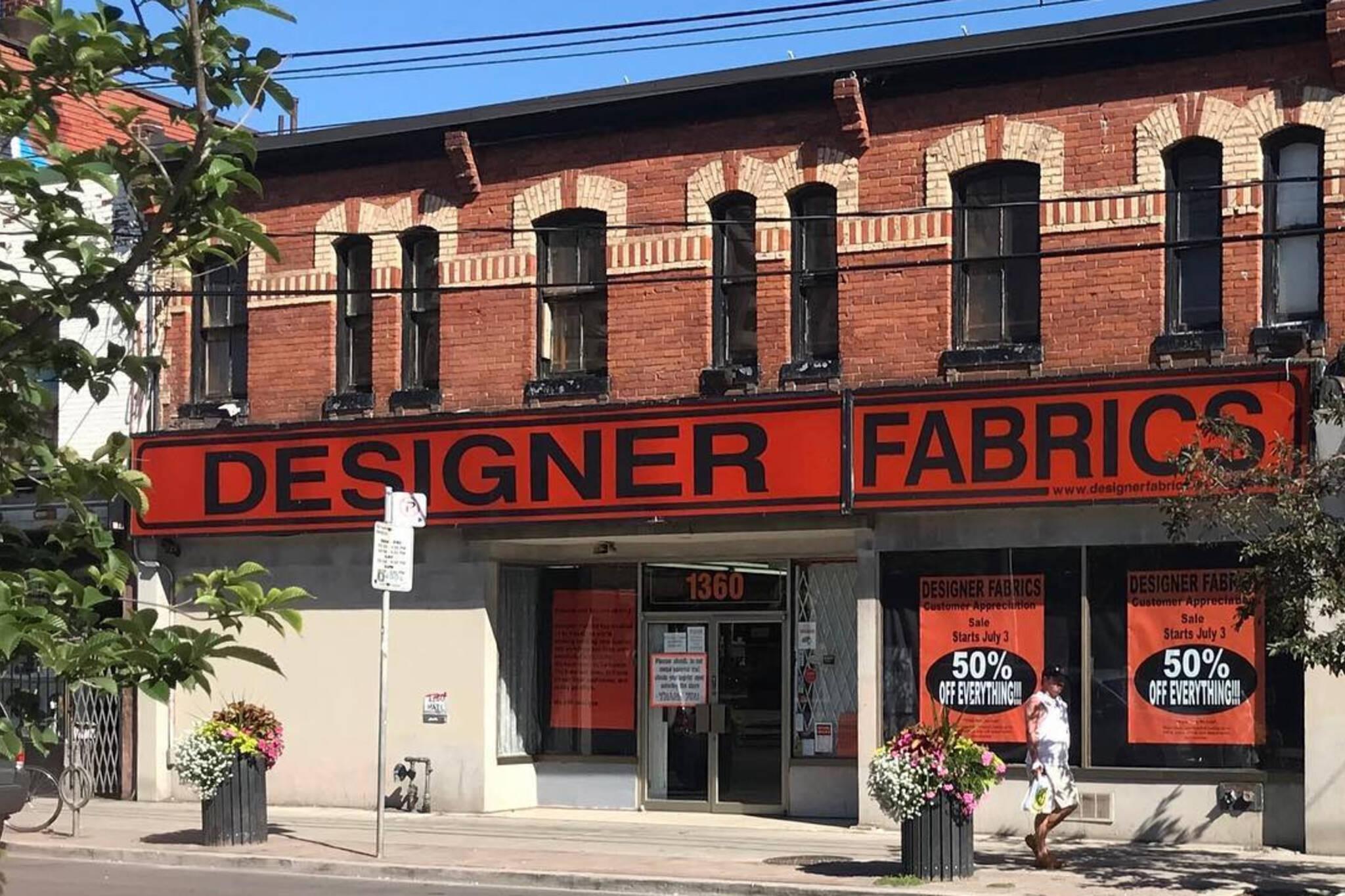 Designer Fabrics toronto