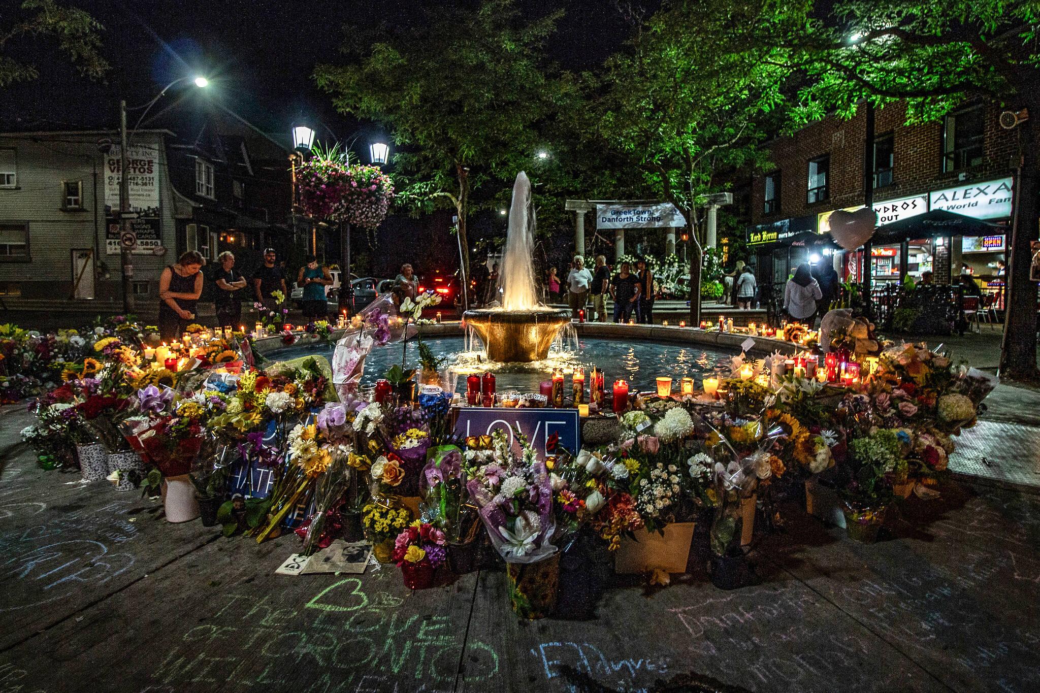 danforth memorial protest