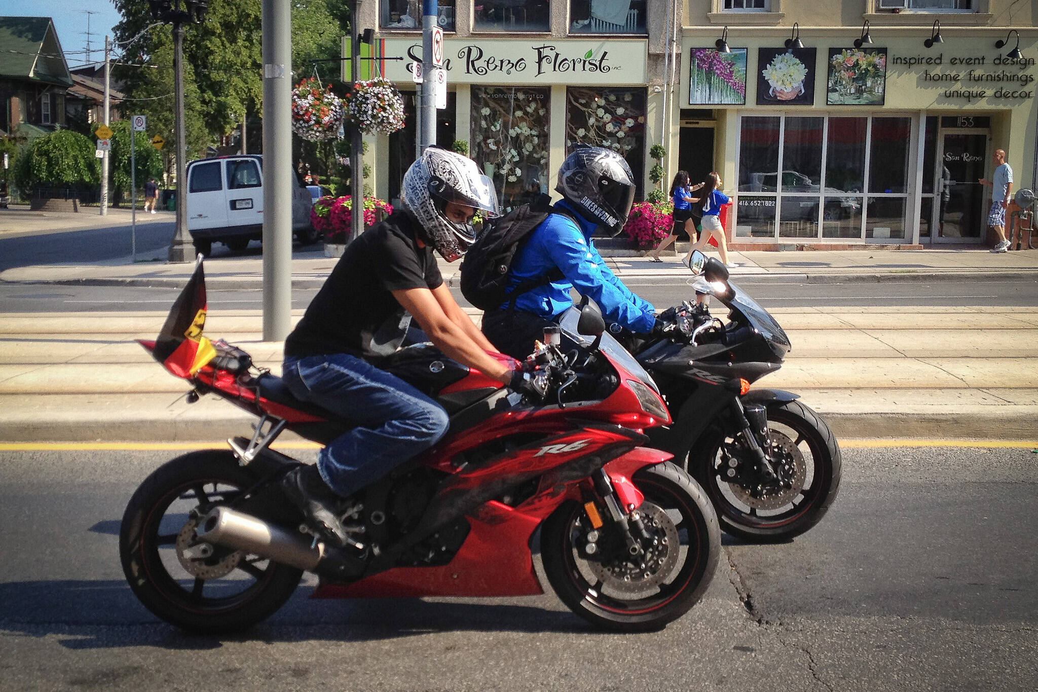 motorcycle noise toronto