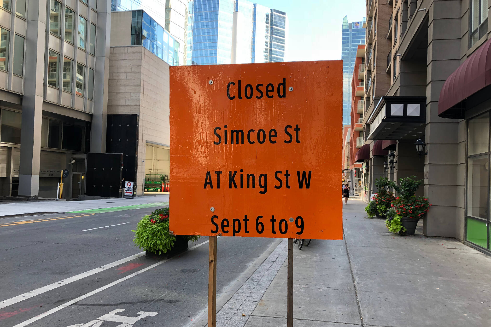 Road Closure Toronto