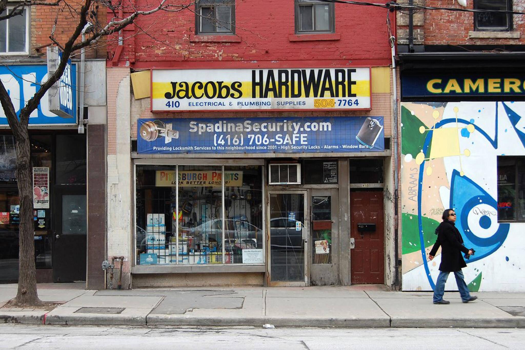 jacobs hardware toronto