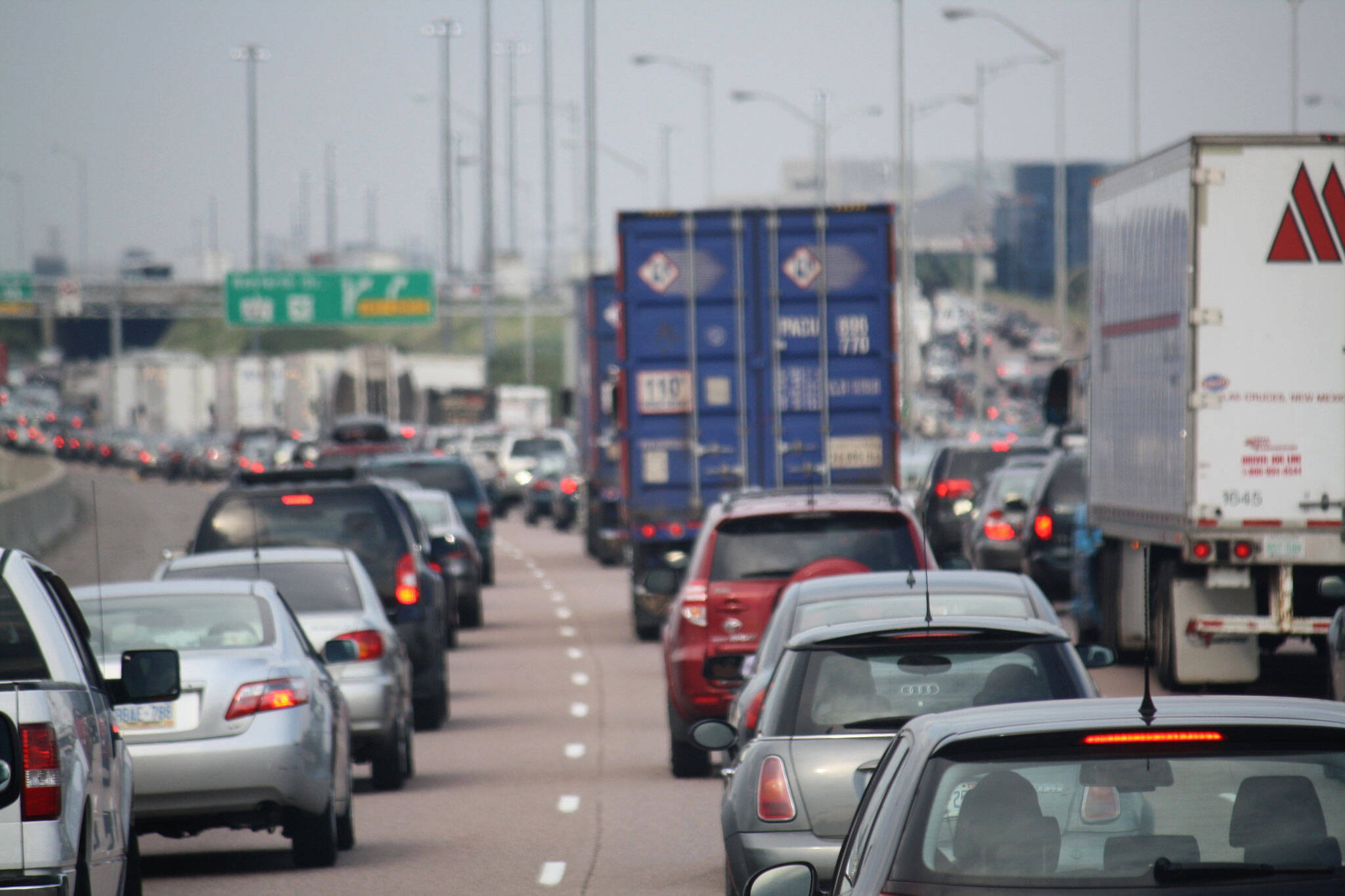 toronto 401 traffic
