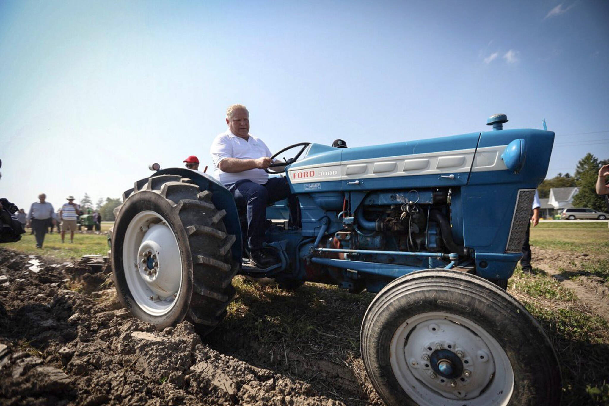 Doug Ford tractor