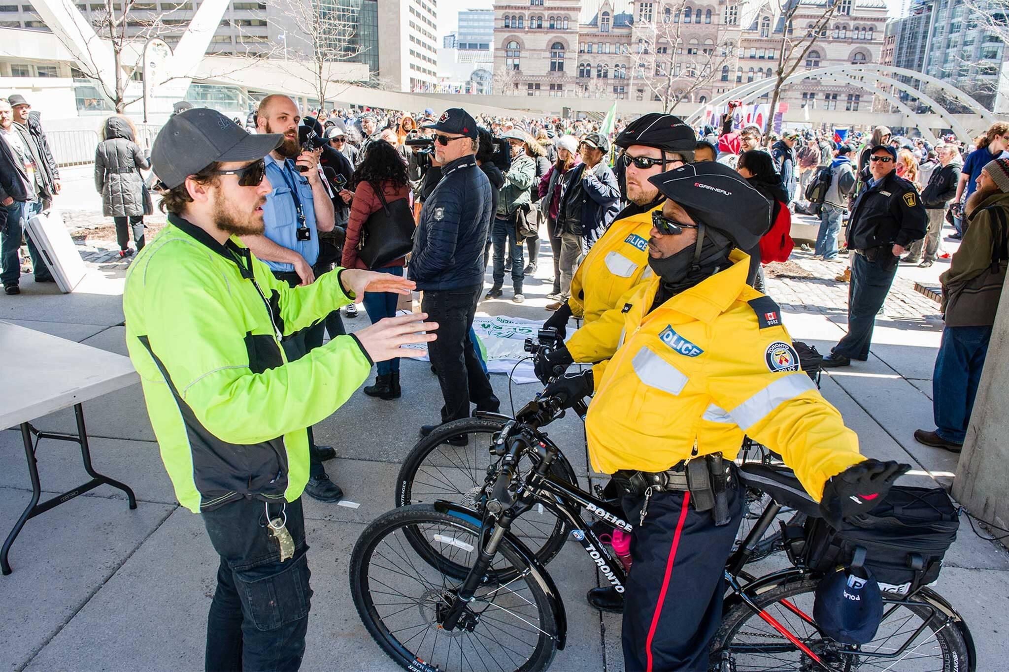 cannabis toronto police