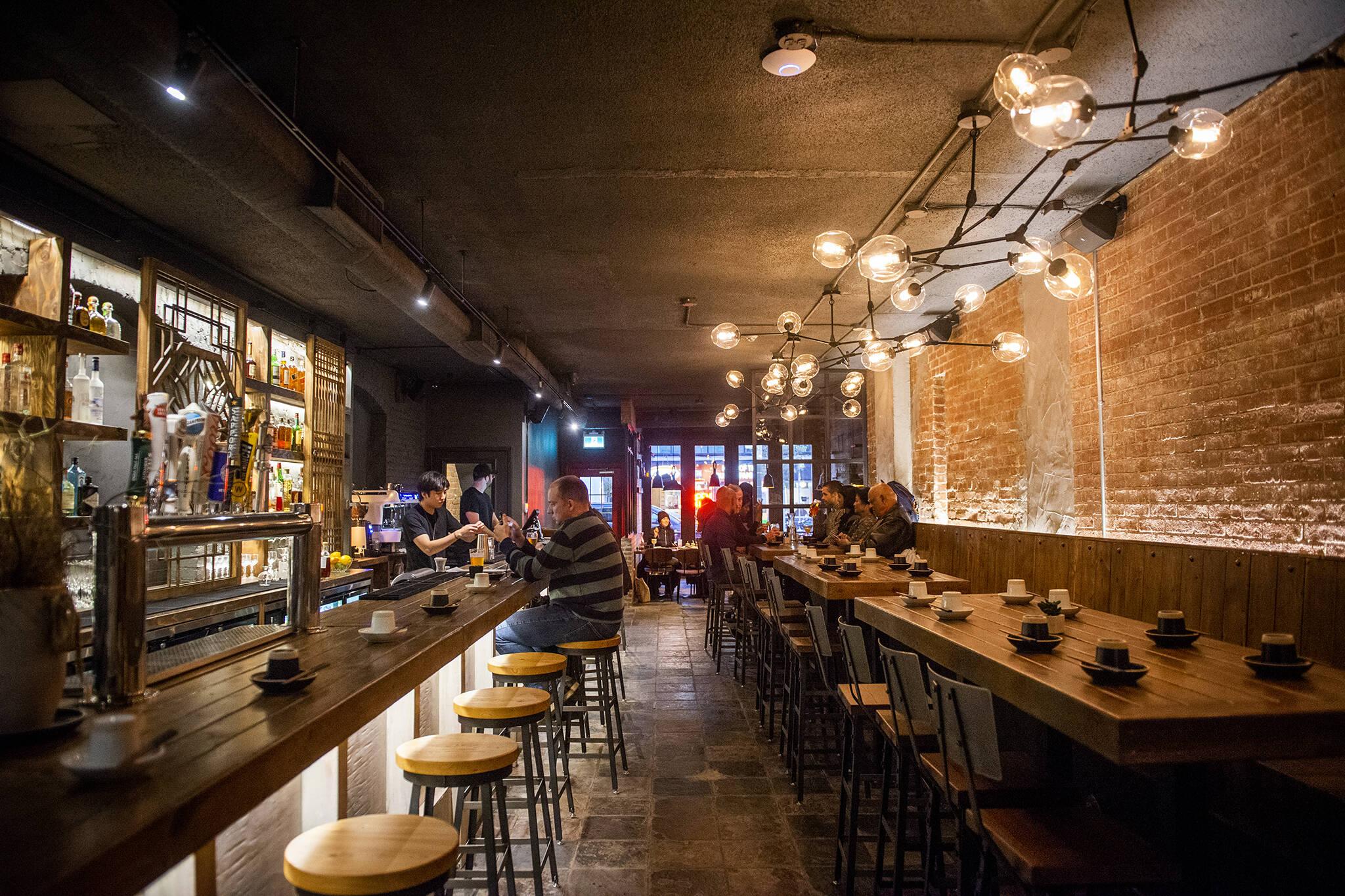 bars near subway toronto