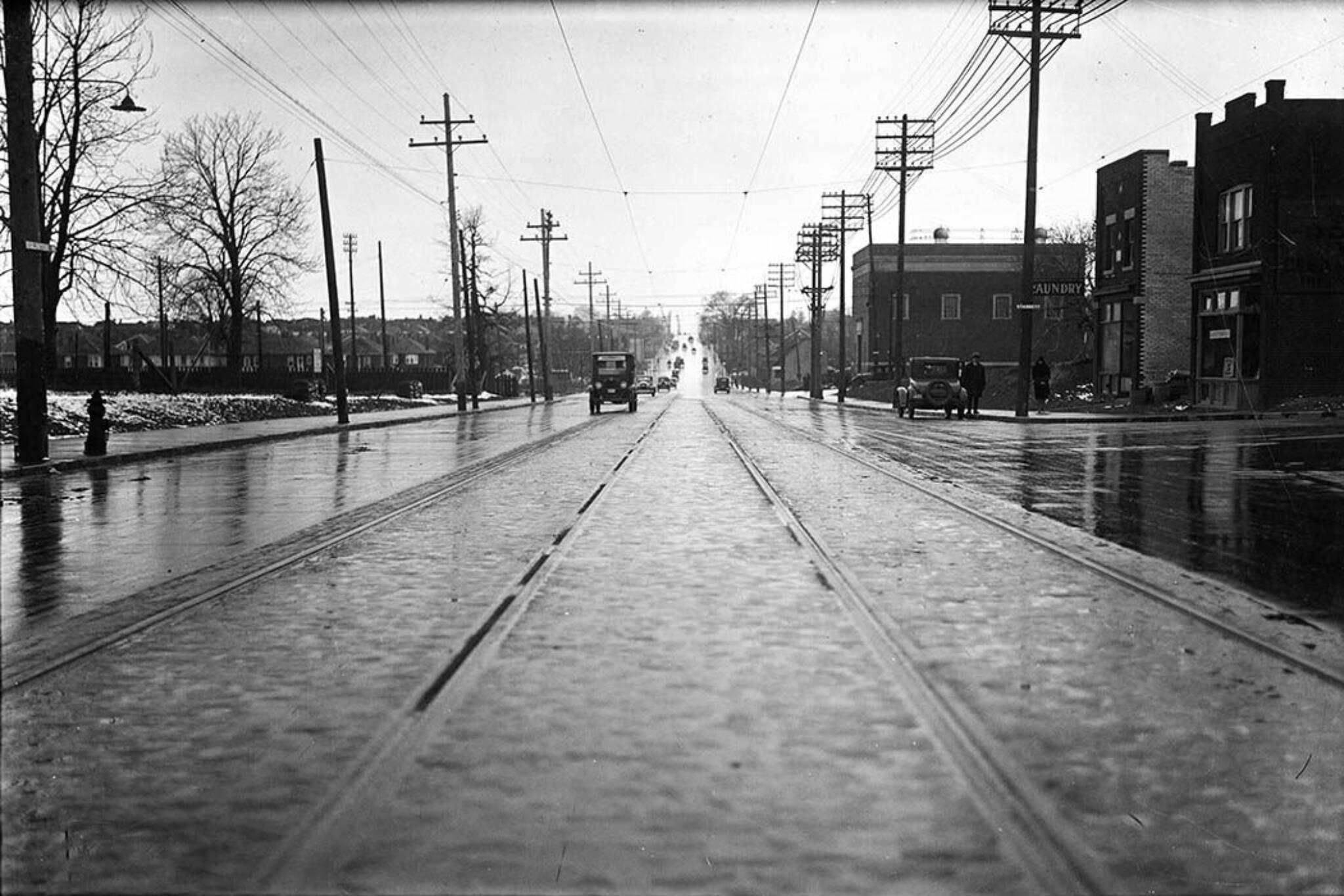 Eglinton Ave History Toronto