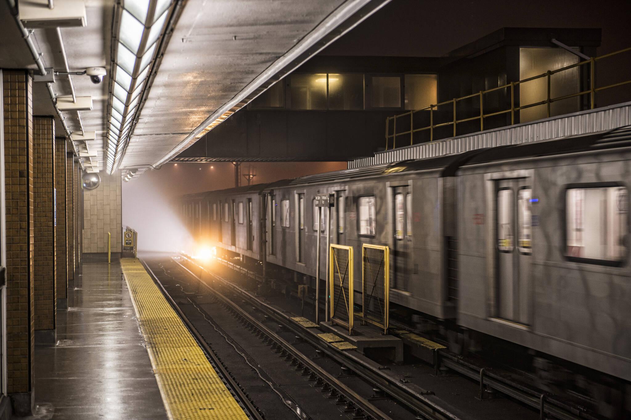 subway noise