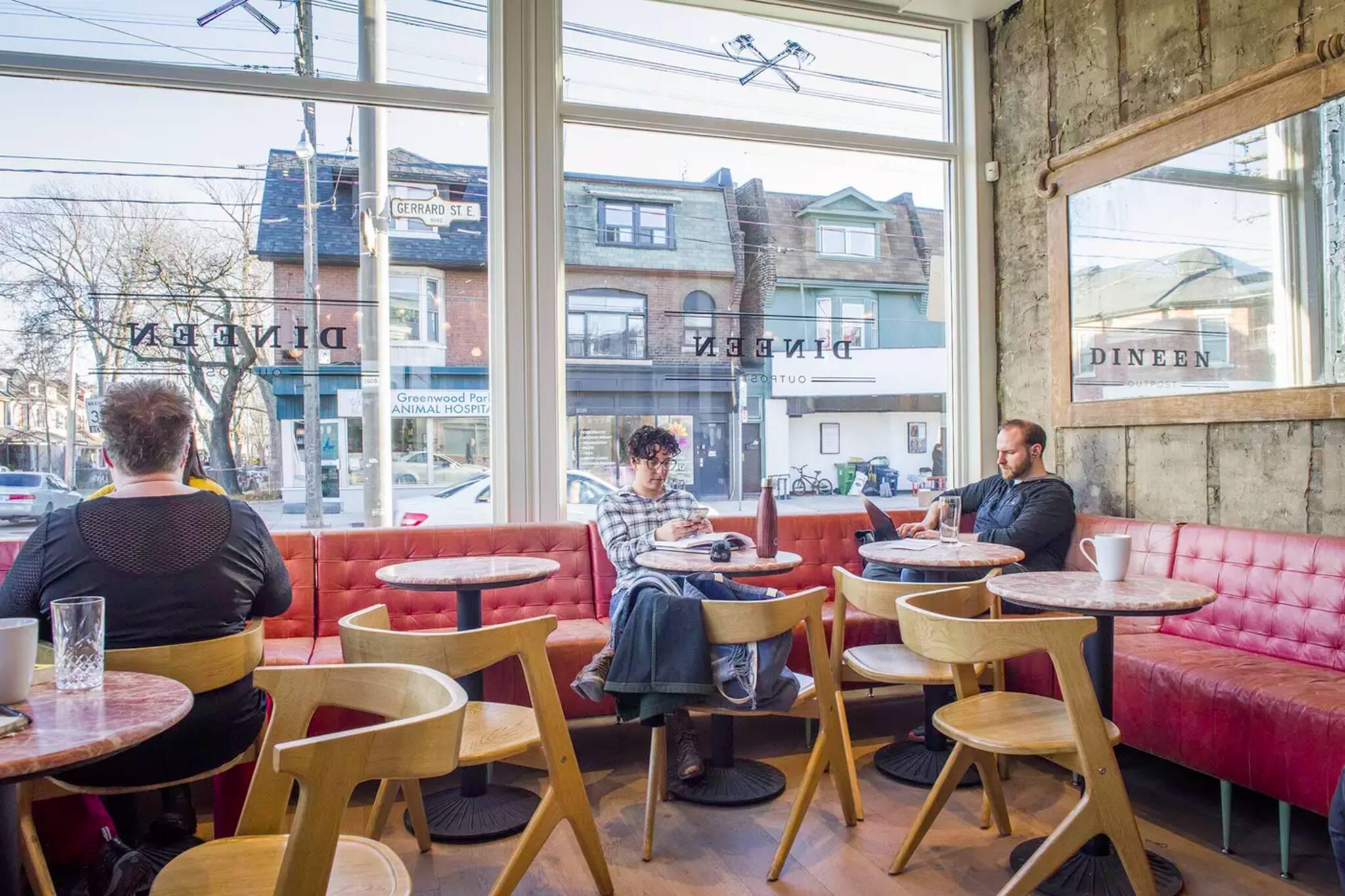 cozy cafes toronto