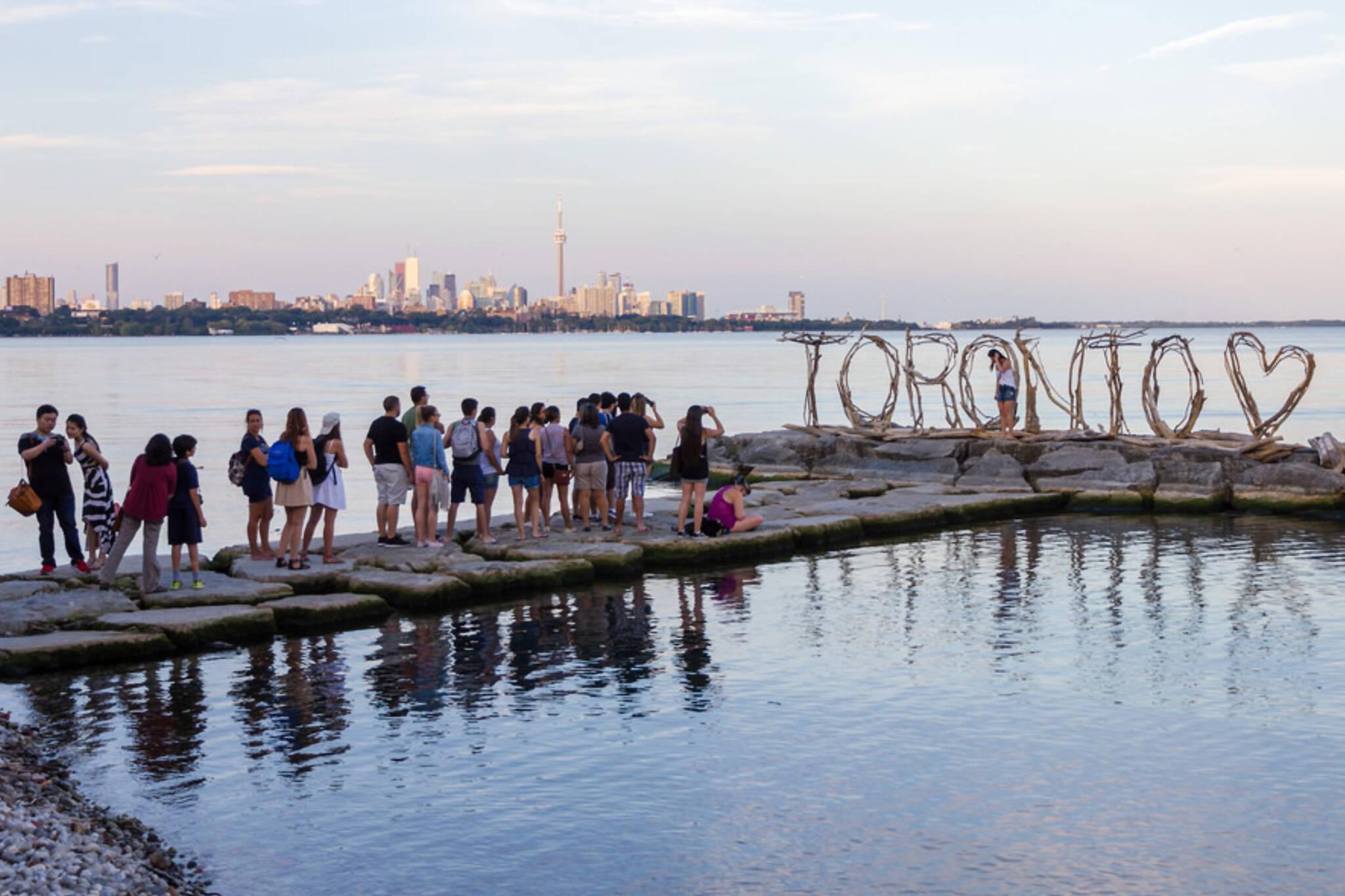 Toronto international tourists