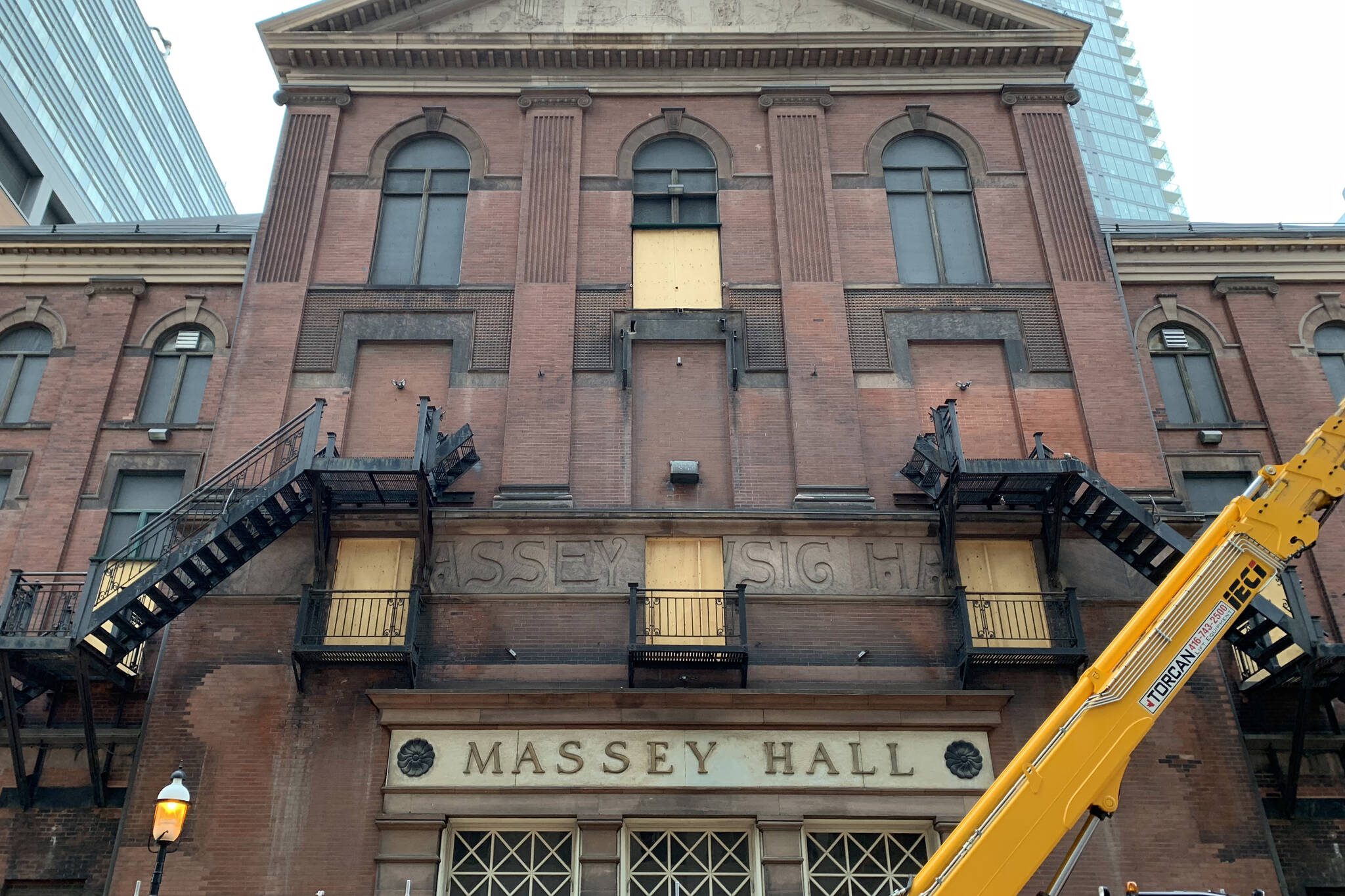 massey hall stairs