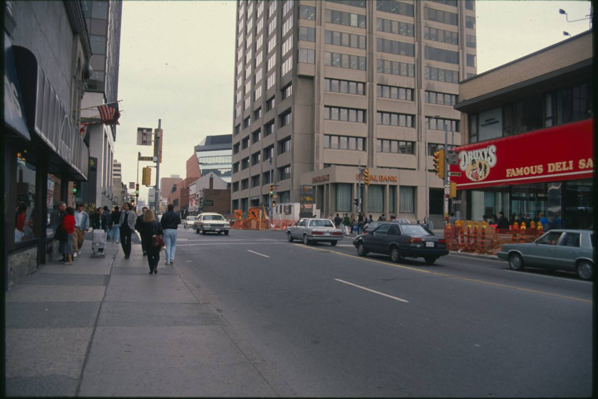 Yonge and Bloor History